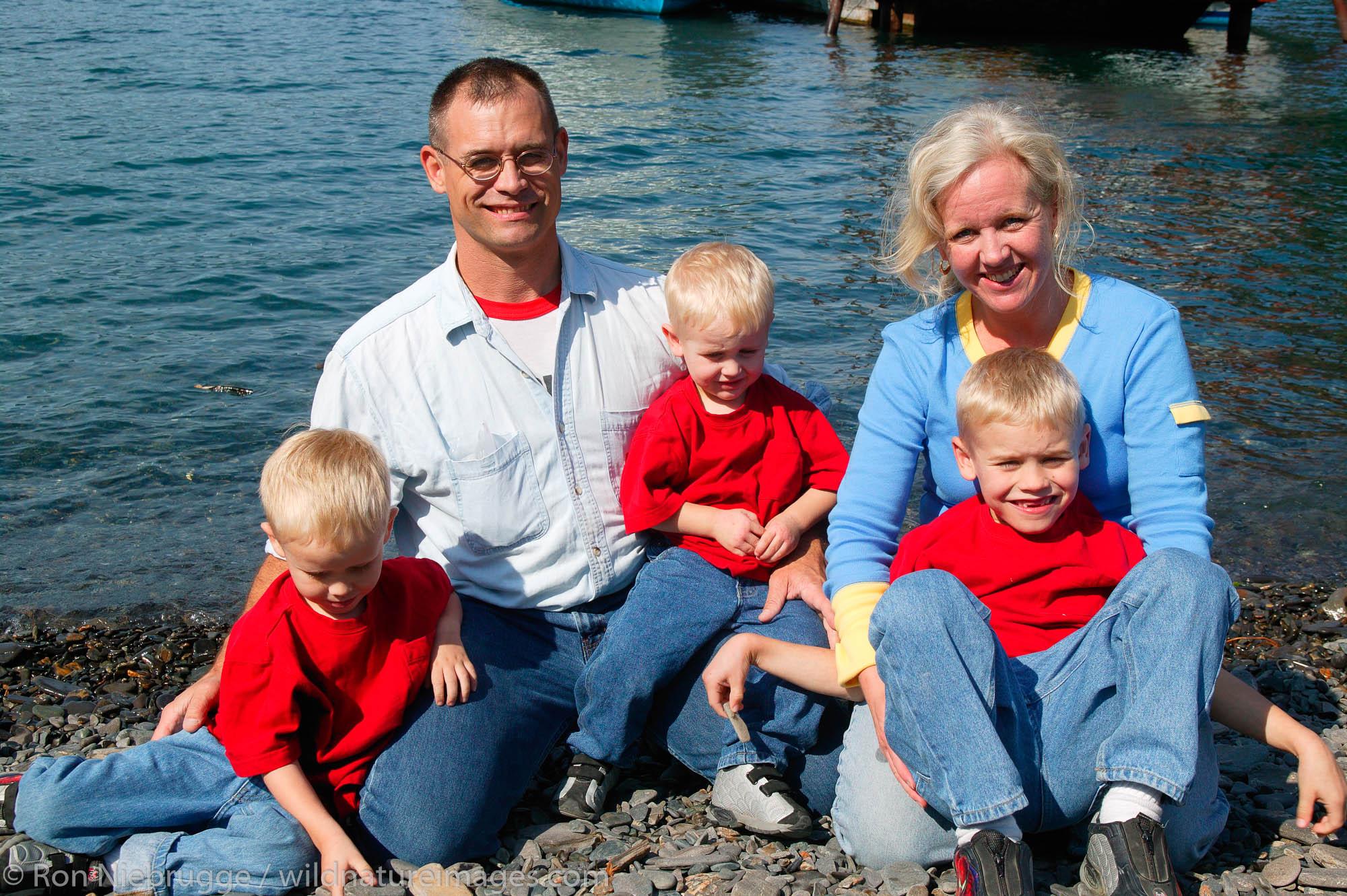 The Blomgren family Kenai Fjords Tours property on Fox Island Resurrection Bay near Seward Alaska.