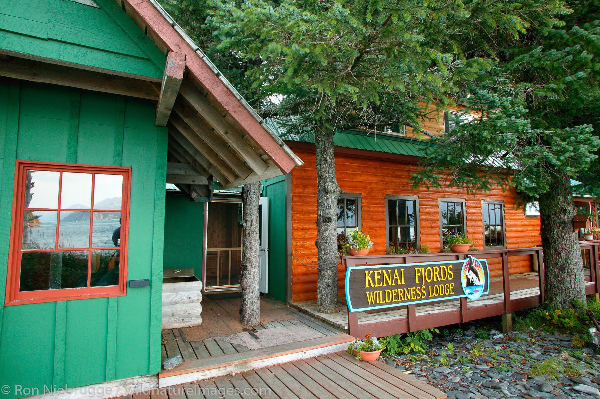 Kenai Fjords Wilderness Lodge Fox Island Alaska.
