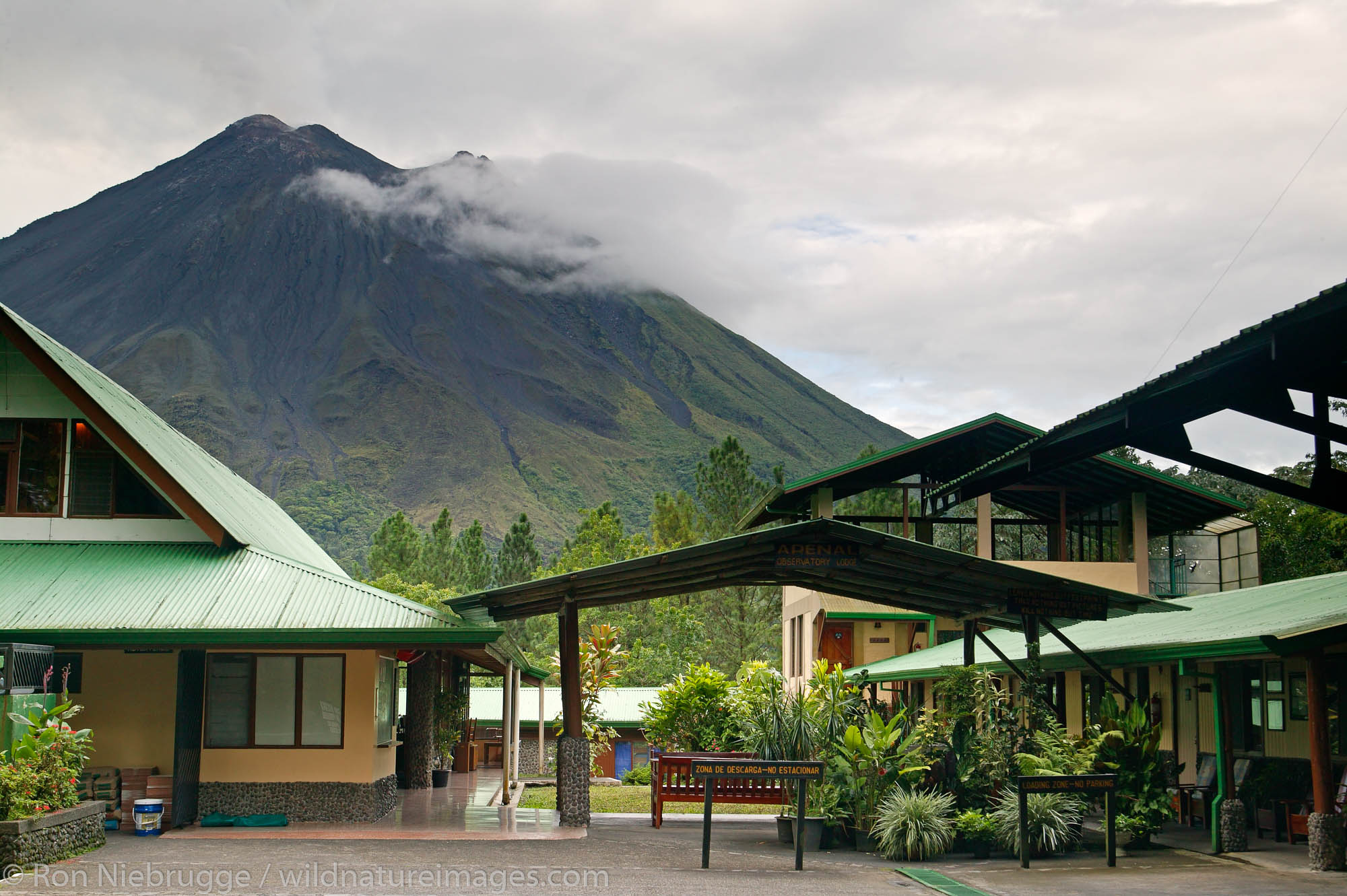 Arenal Observatory Lodge was originally built by the Smithsonian Institute for scientists to use to observe the Arenal Volcano...