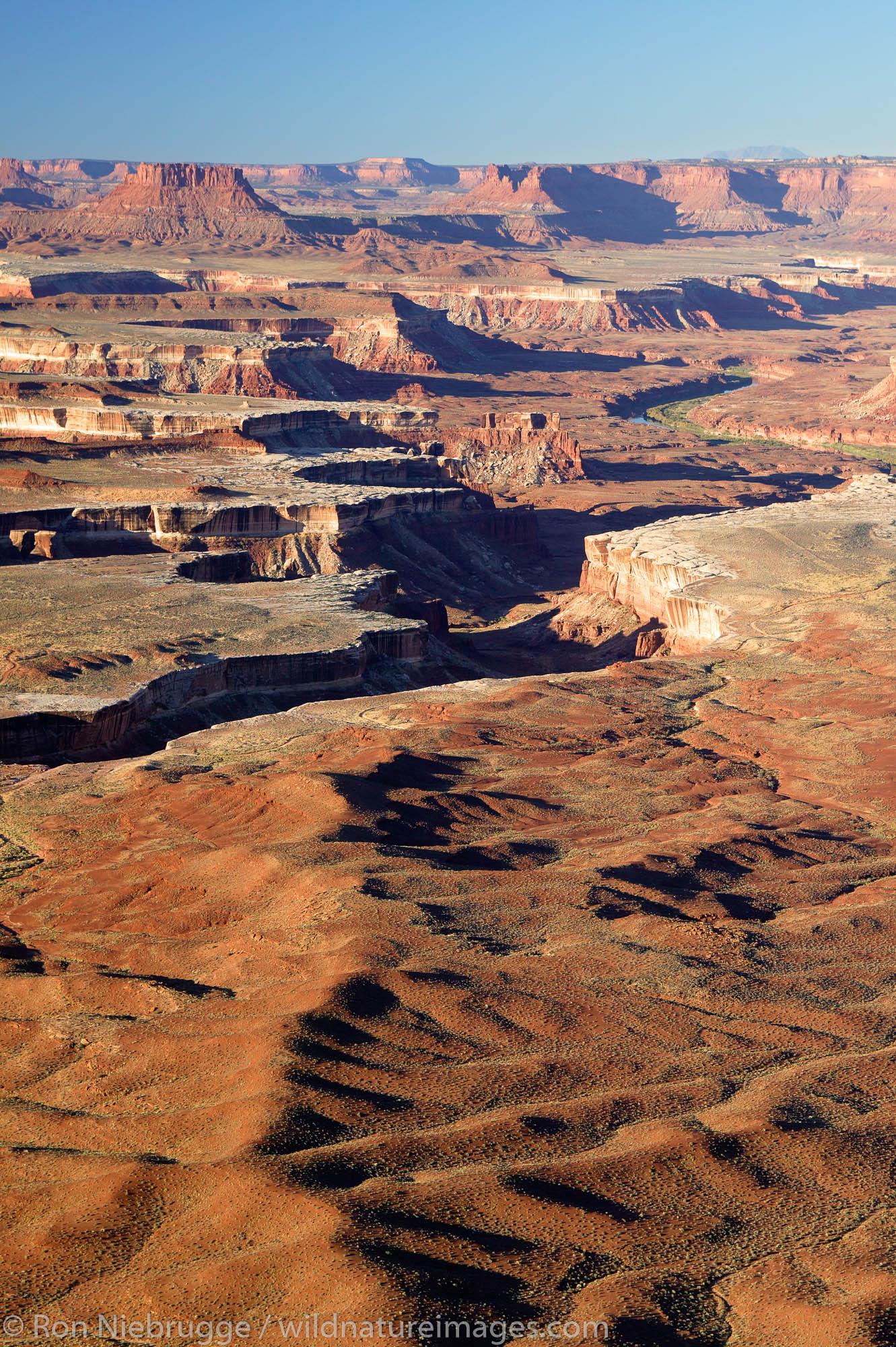 Green River Overlook, Island in the Sky Region, Canyonland National Park, near Moab, Utah.
