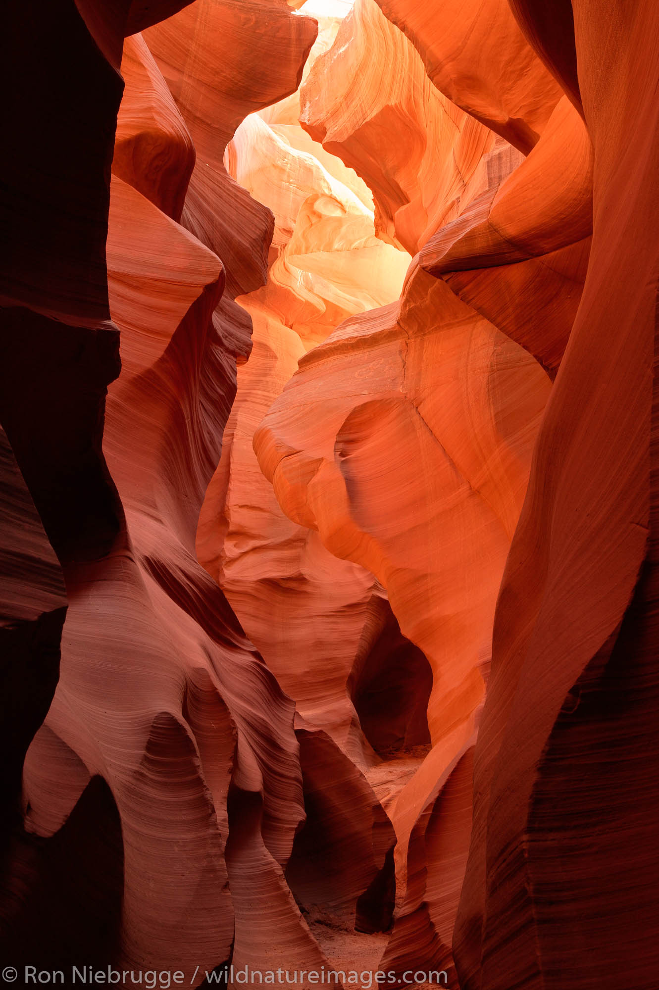 Lower Antelope Canyon, near Page, Arizona.