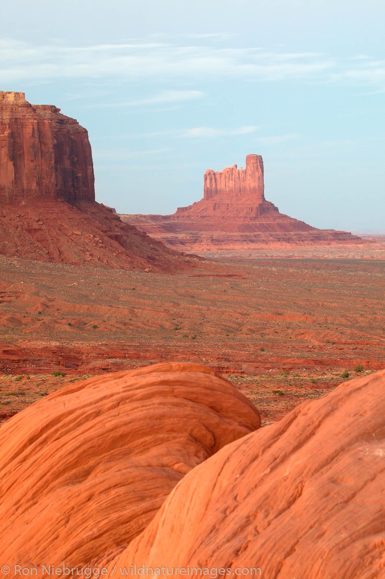 Monument Valley Navajo Tribal Park, Utah.