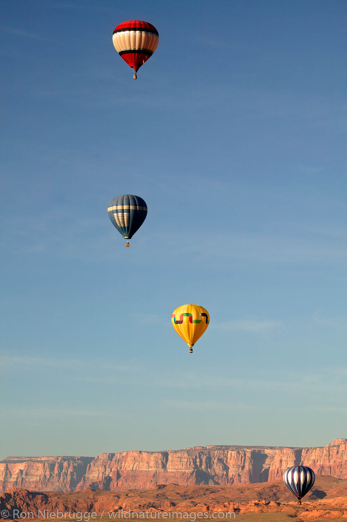 Lake Powell Ballon Regatta, Page, Arizona.