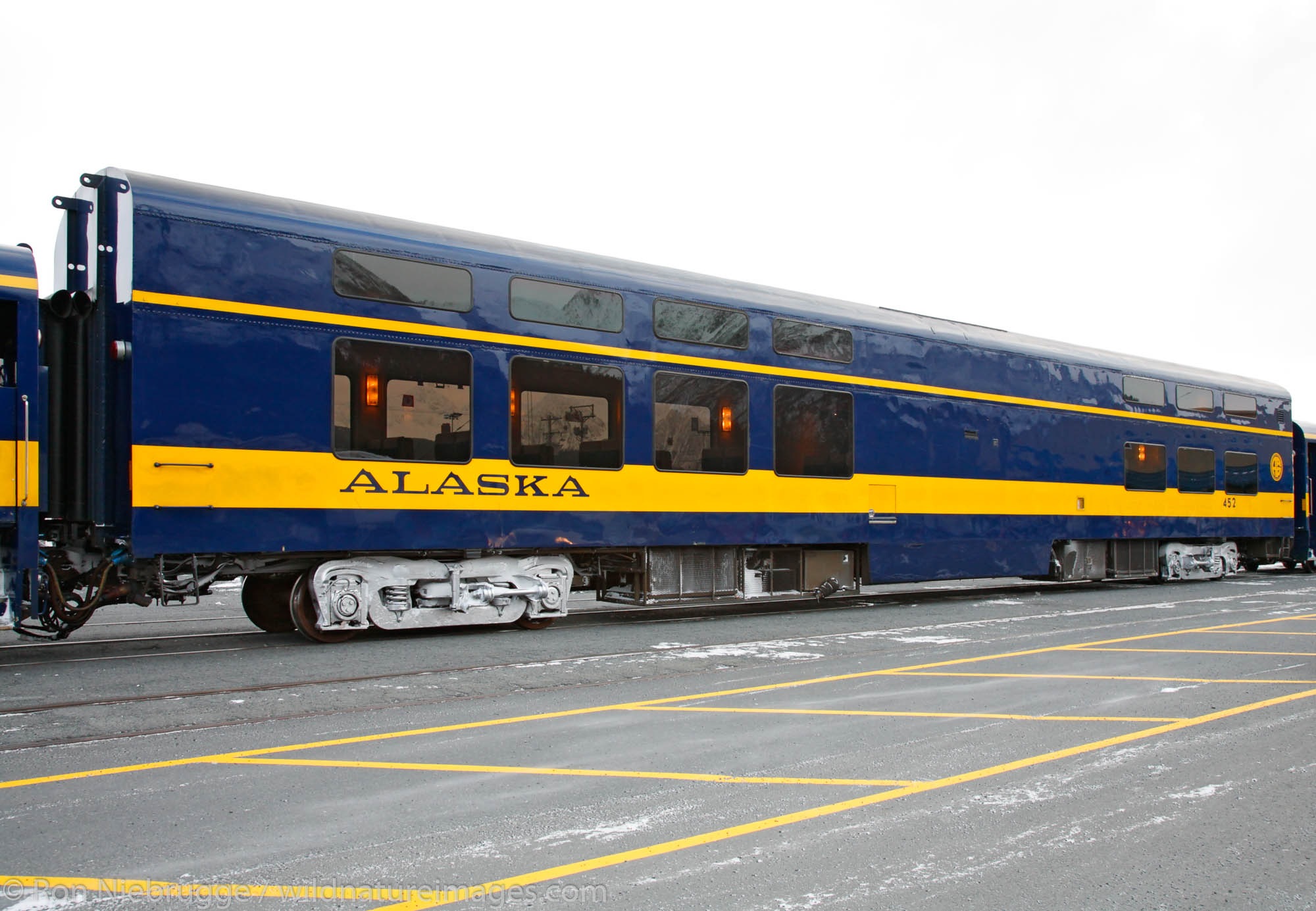 Holiday Train, Seward, Alaska.