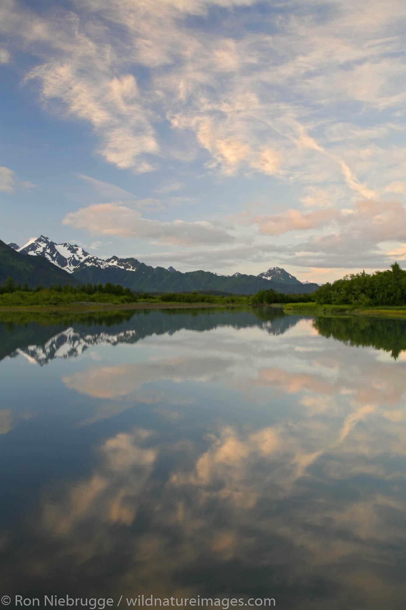 Alaganik Slough, Copper River Delta, Cordova, Chugach National Forest, Alaska.