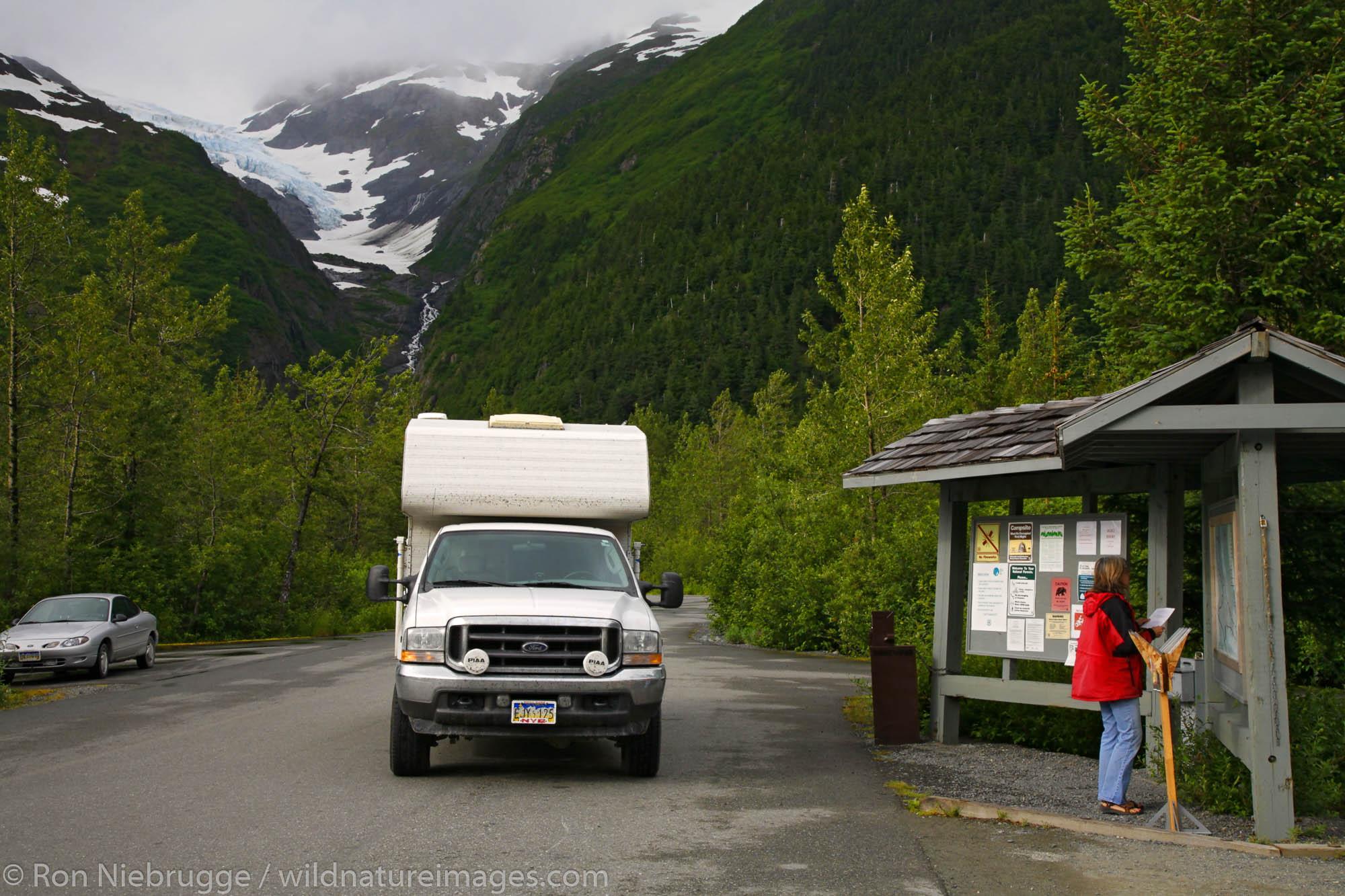 Williwaw Campground, Portage Valley, Chugach National Forest, Alaska.