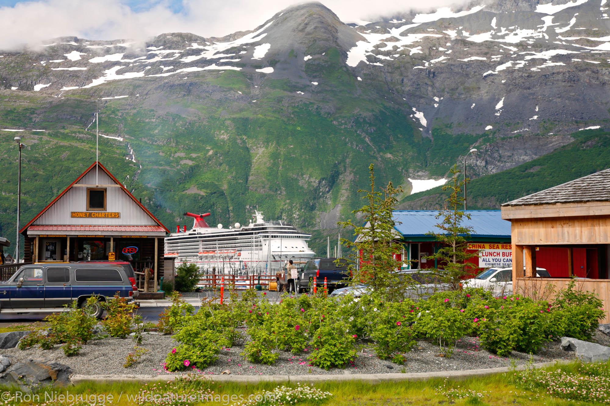 Whittier, Prince William Sound, Chugach National Forest, Alaska.