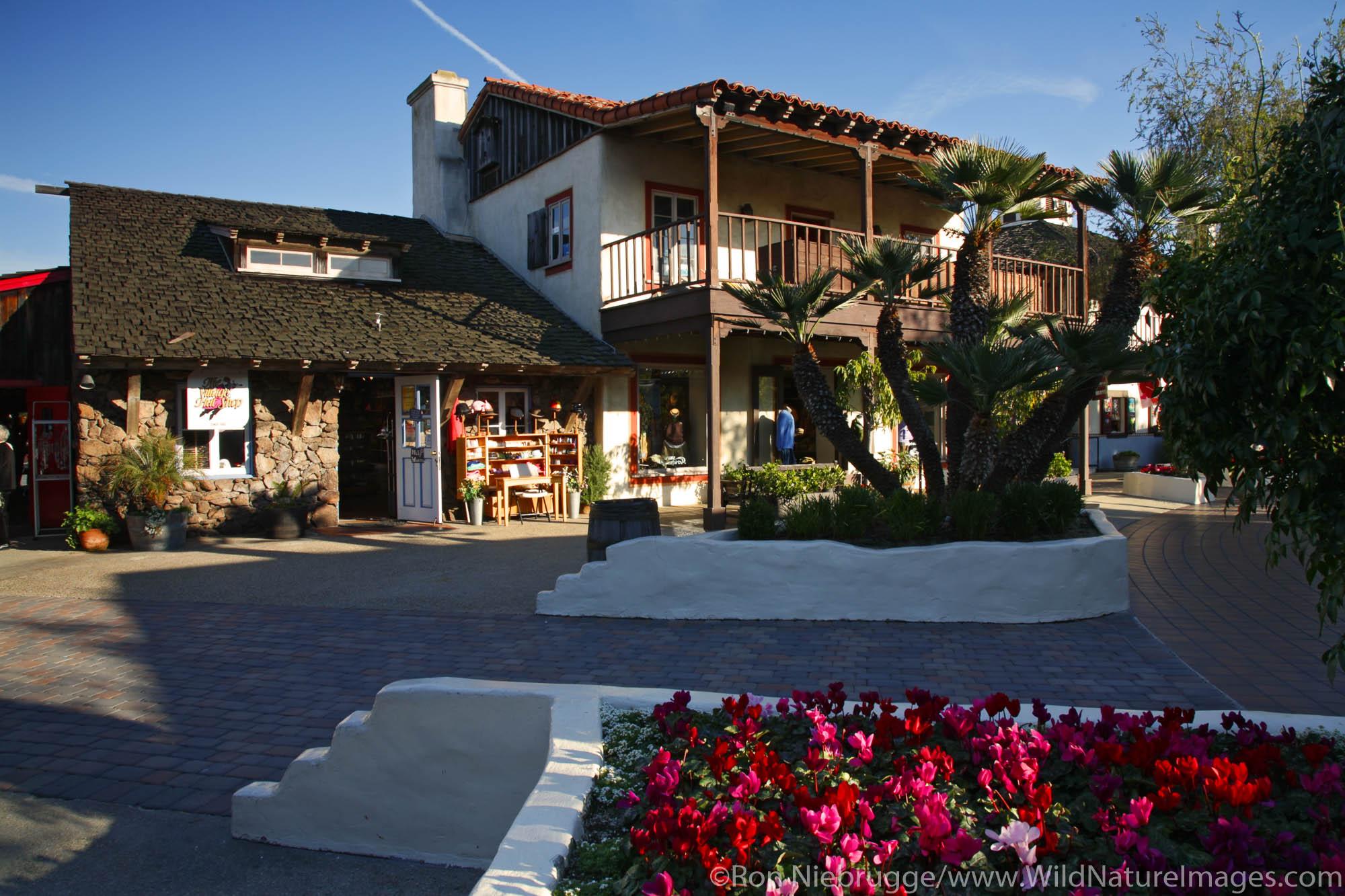 Seaport Village, San Diego, California.