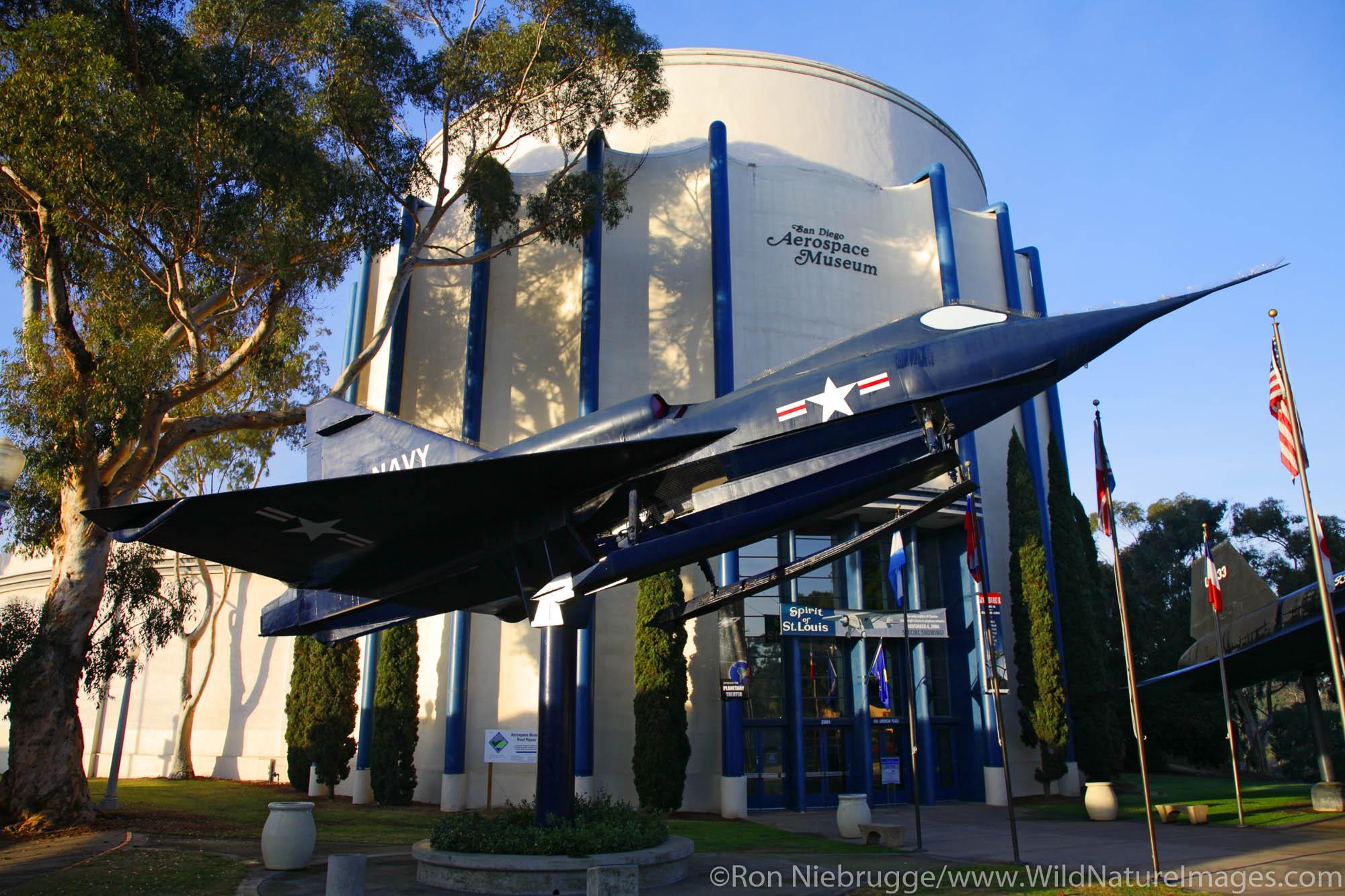 San Diego Aerospace Museum, Balboa Park, San Diego, California.