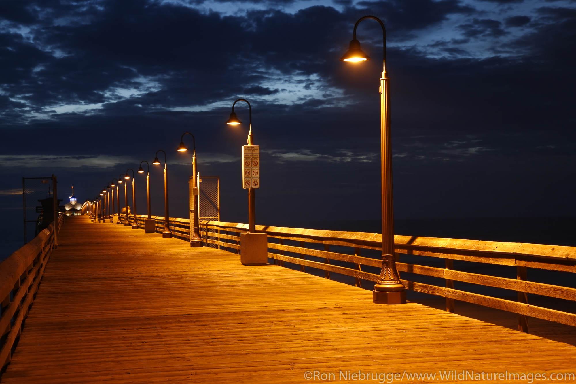 Imperial Beach Municipal Pier, San Diego County, California.
