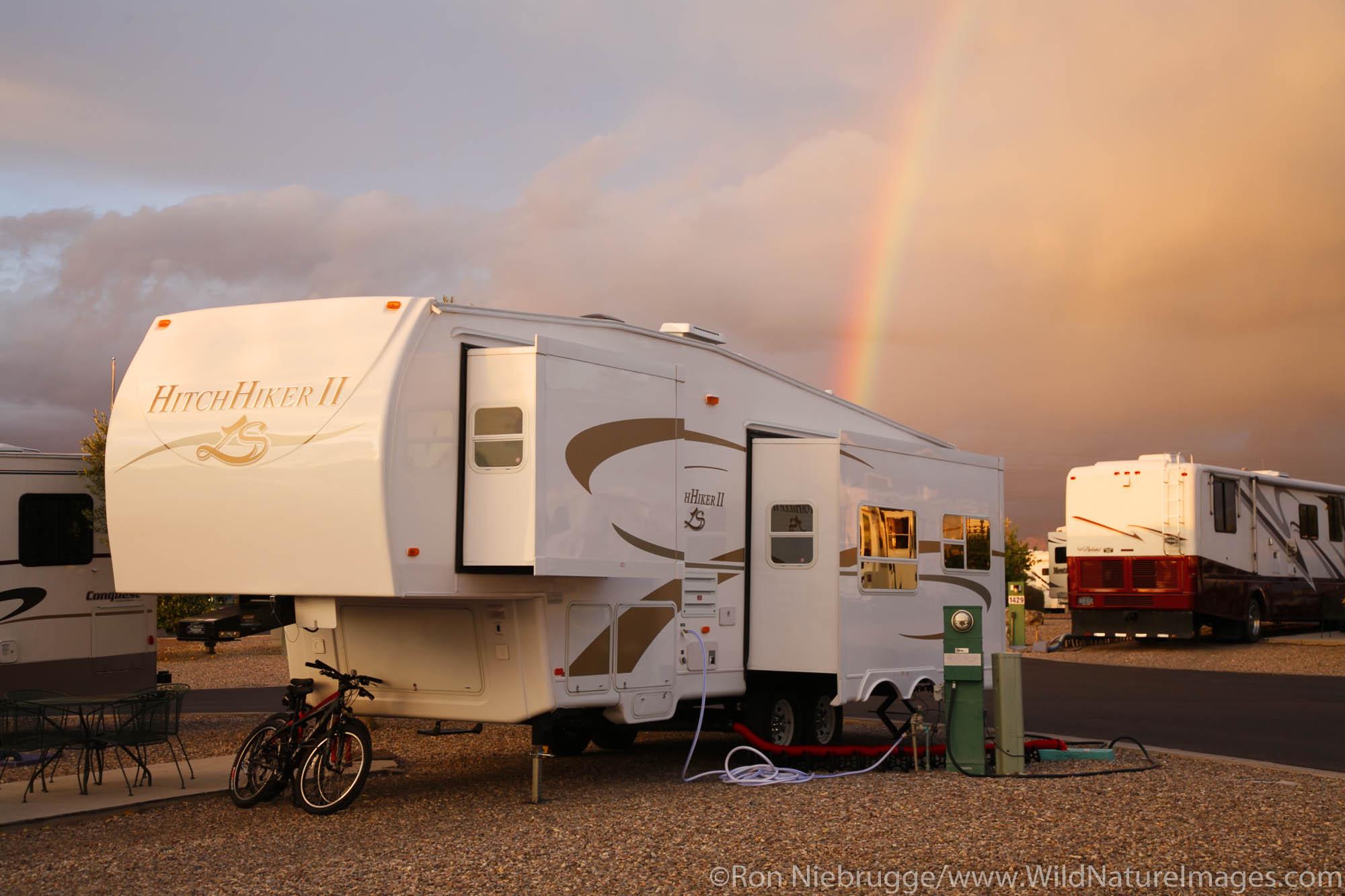 Beaudry RV Resort, Tucson, Arizona.