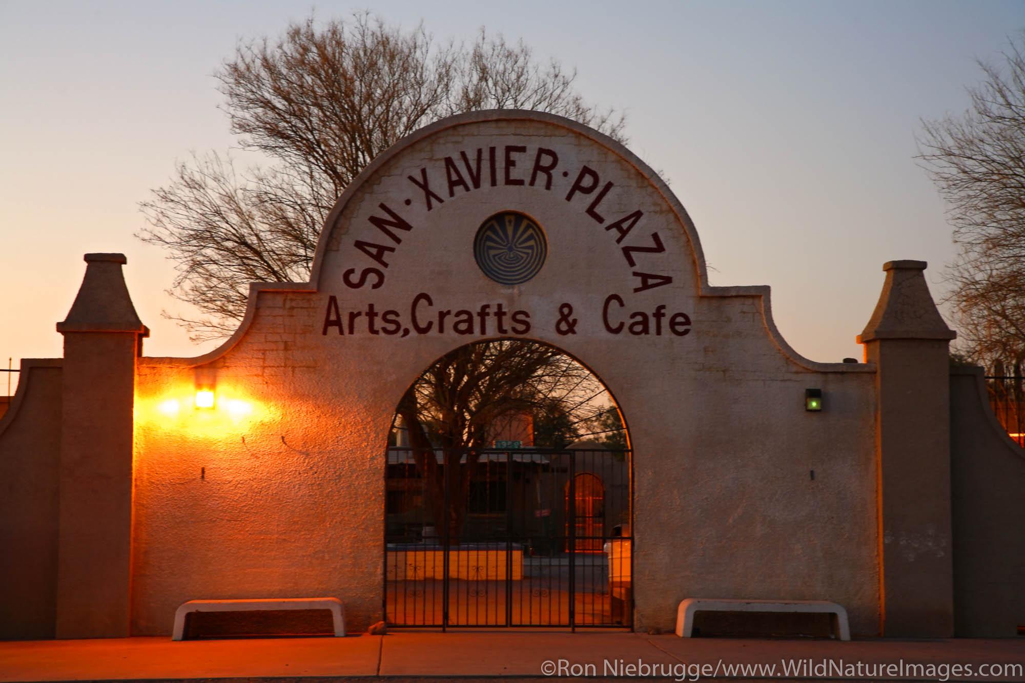San Xavier Plaza, Tucson, Arizona