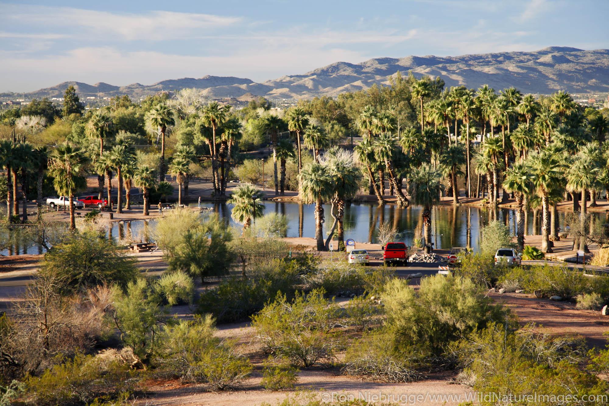 Papago Park, Phoenix, Arizona.