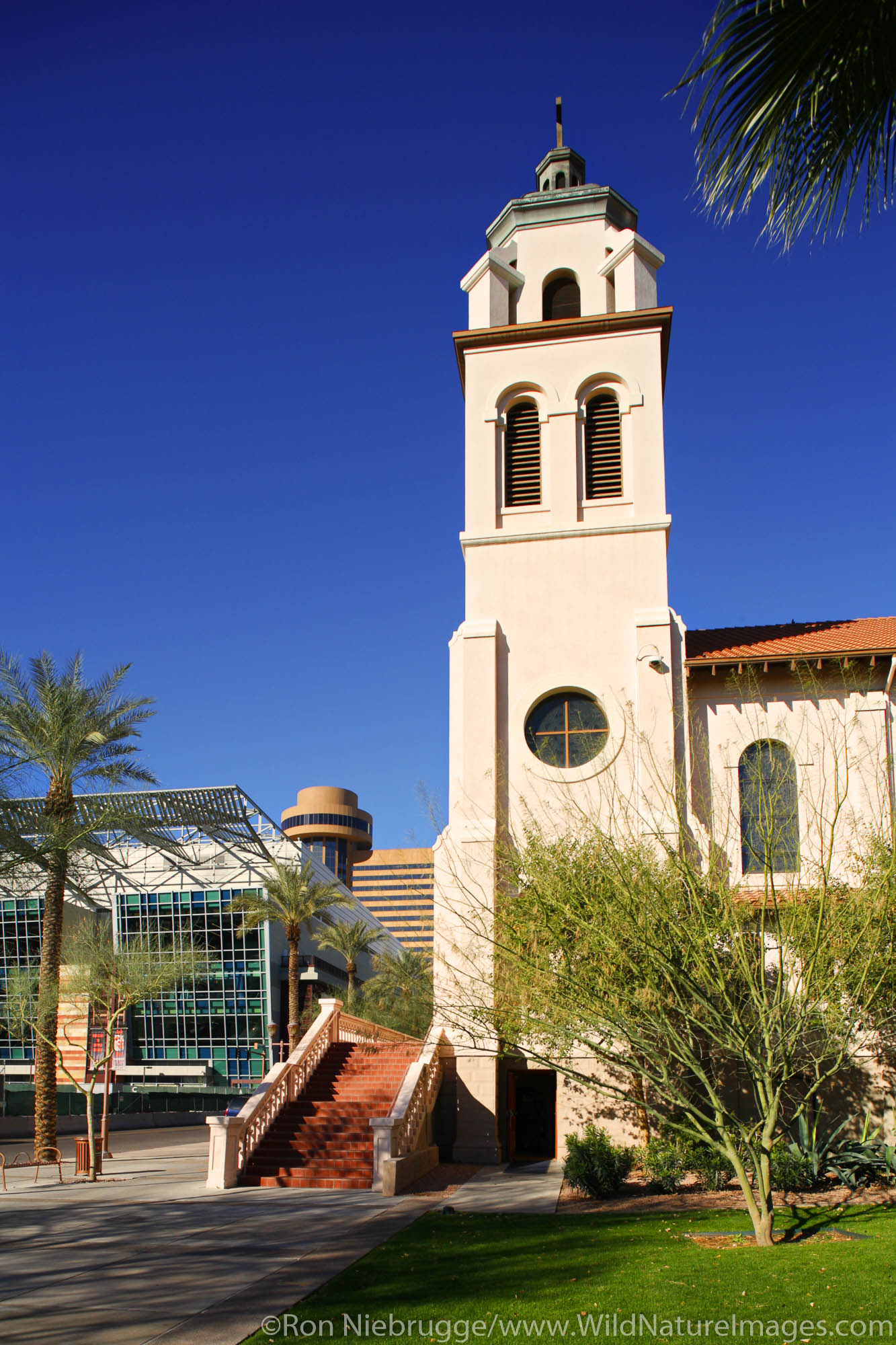 St. Mary's Basilica is the oldest Catholic church in Phoenix founded in 1881, Phoenix, Arizona.