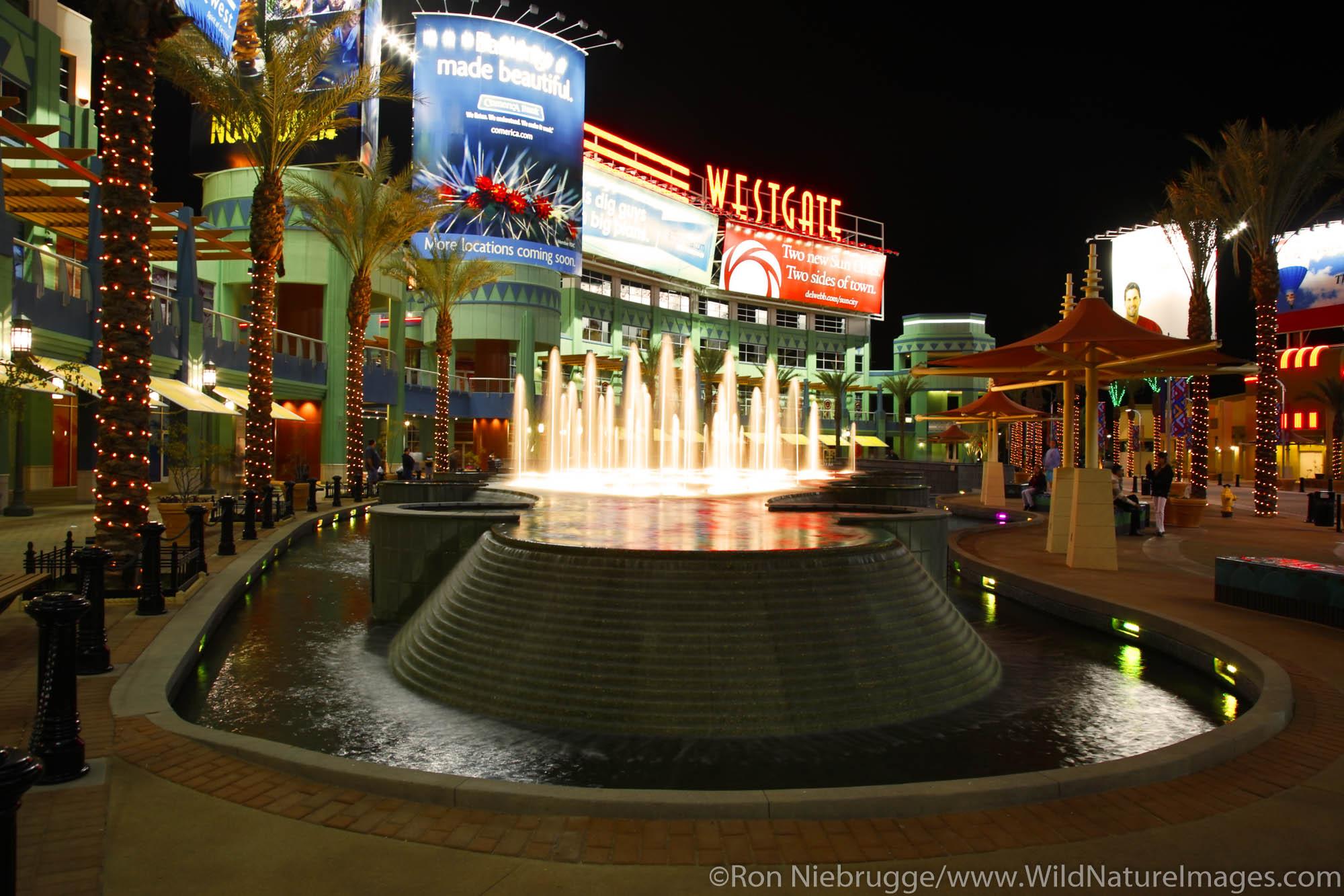 Westgate Center near Phoenix, Glendale, Arizona.