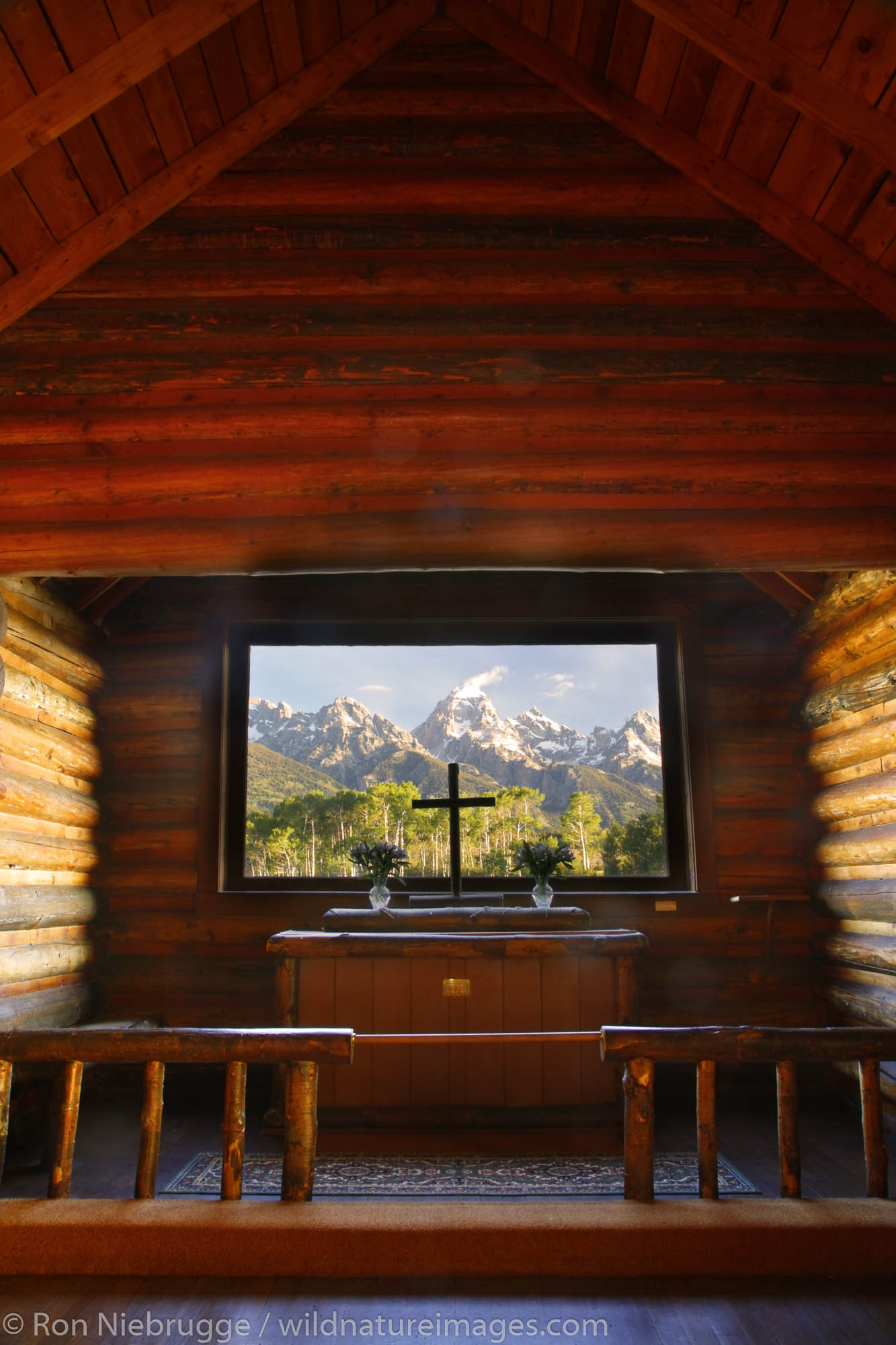 Chapel of the Transfiguration, Grand Teton National Park, Wyoming.