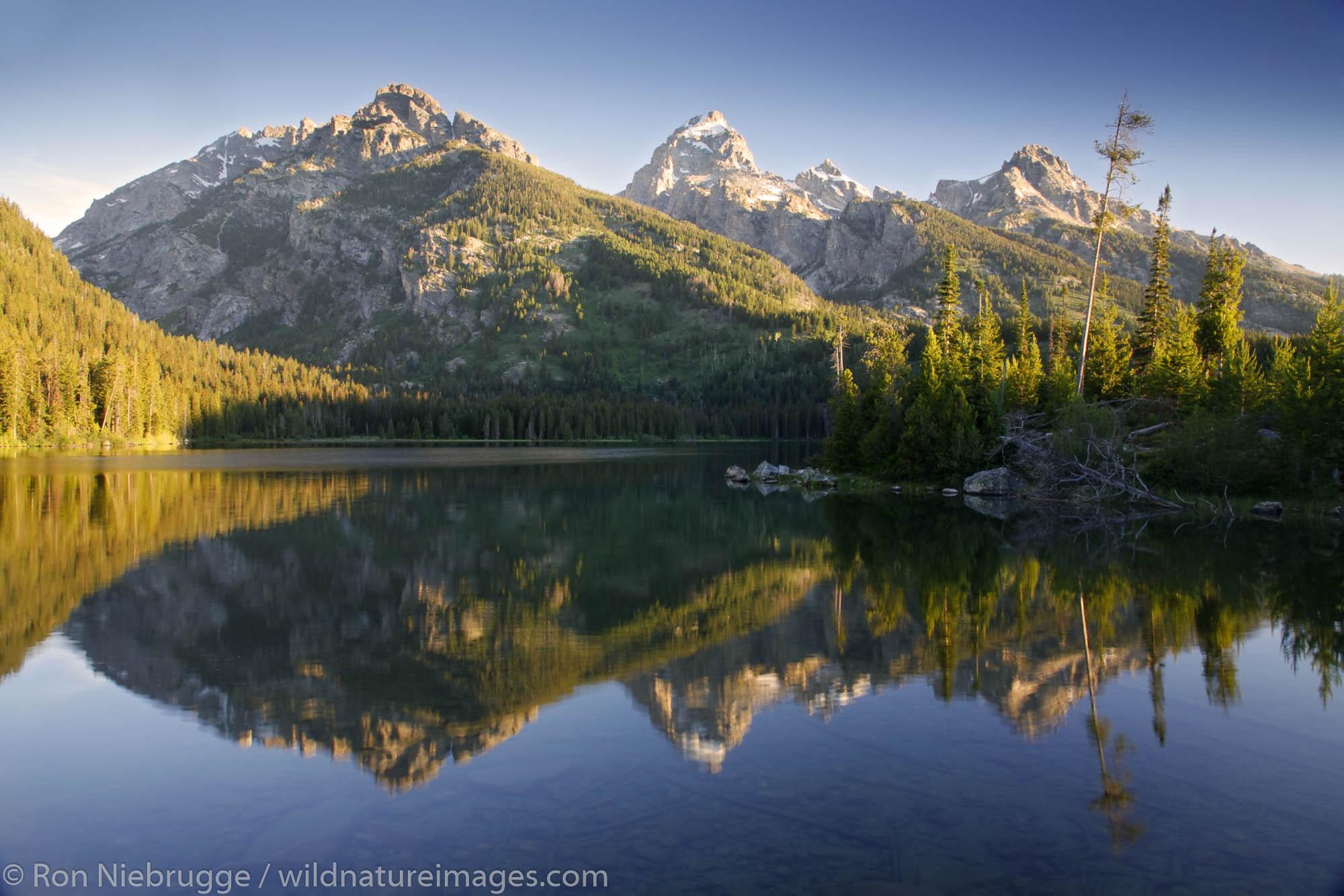 Taggart Lake, Grand Teton National Park, Wyoming.