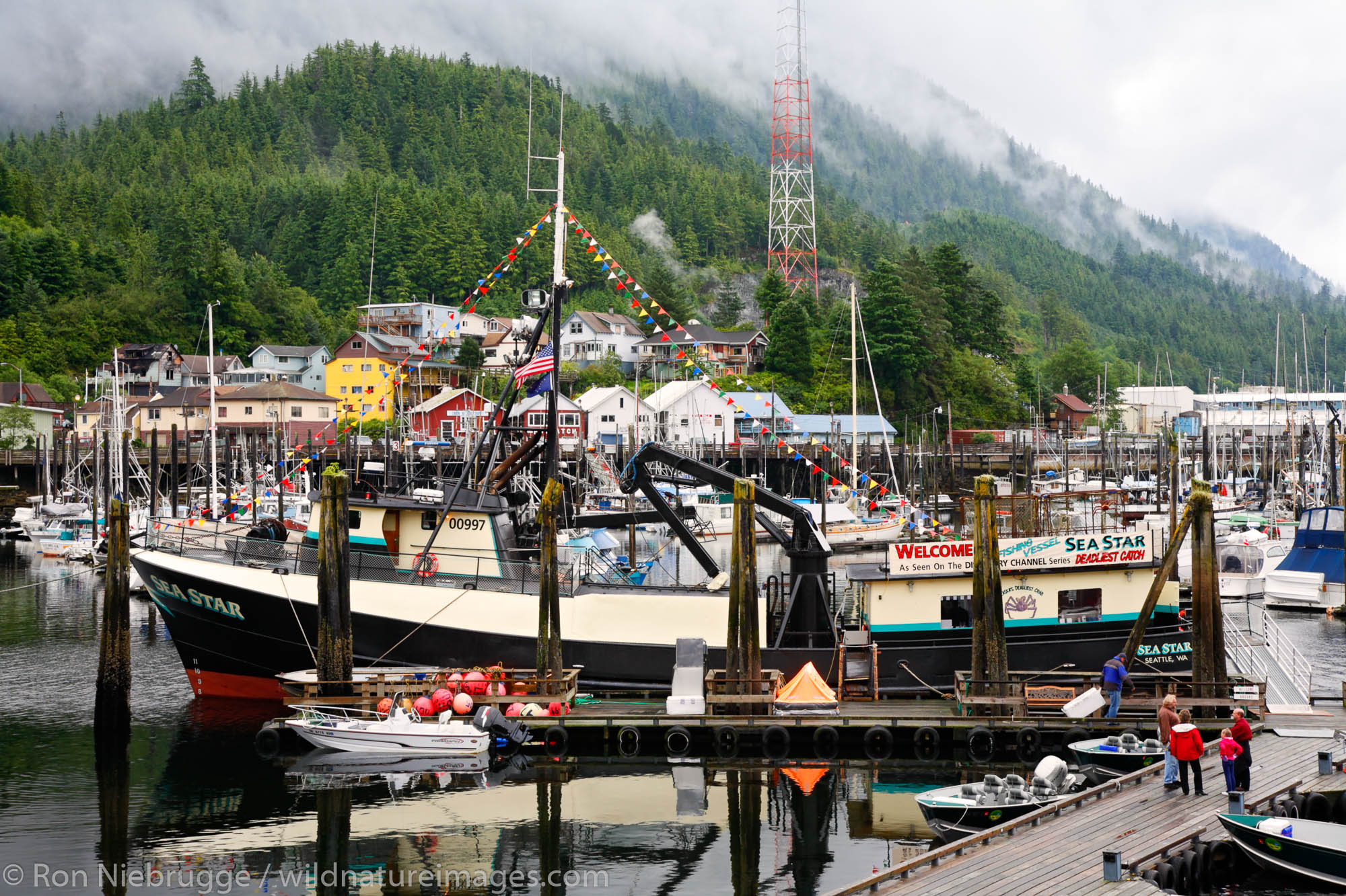 The Sea Star from the show Deadliest Catch, Ketchikan, Alaska.