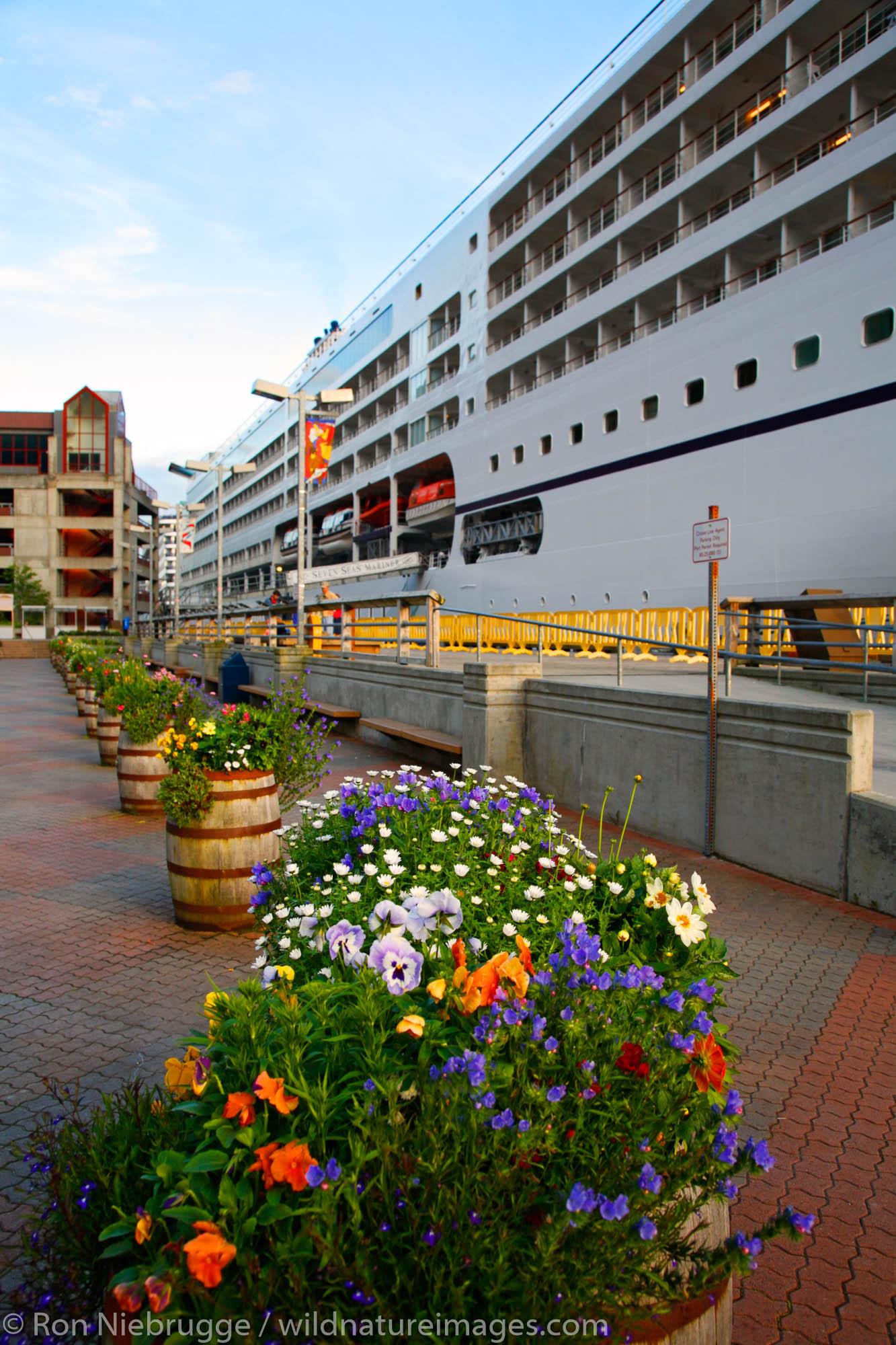 Cruiseships, Juneau, Alaska.