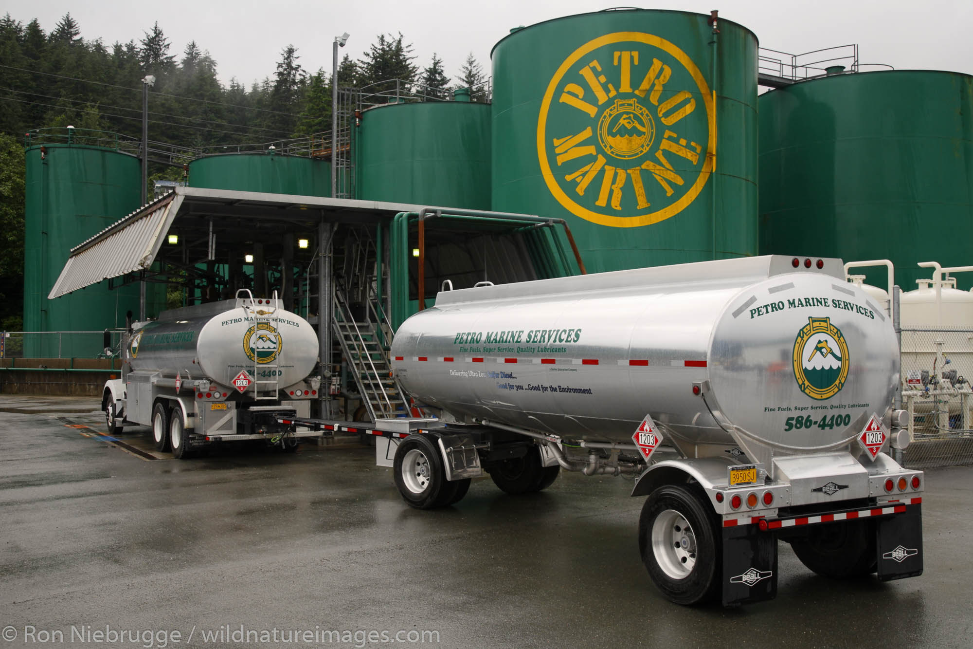 Petro Marine Services fuel plant, Juneau, Alaska.