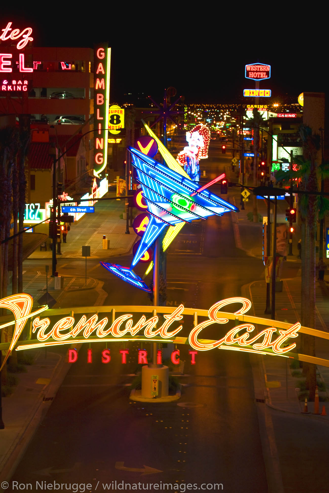 Fremont East, Downtown Las Vegas, Nevada.