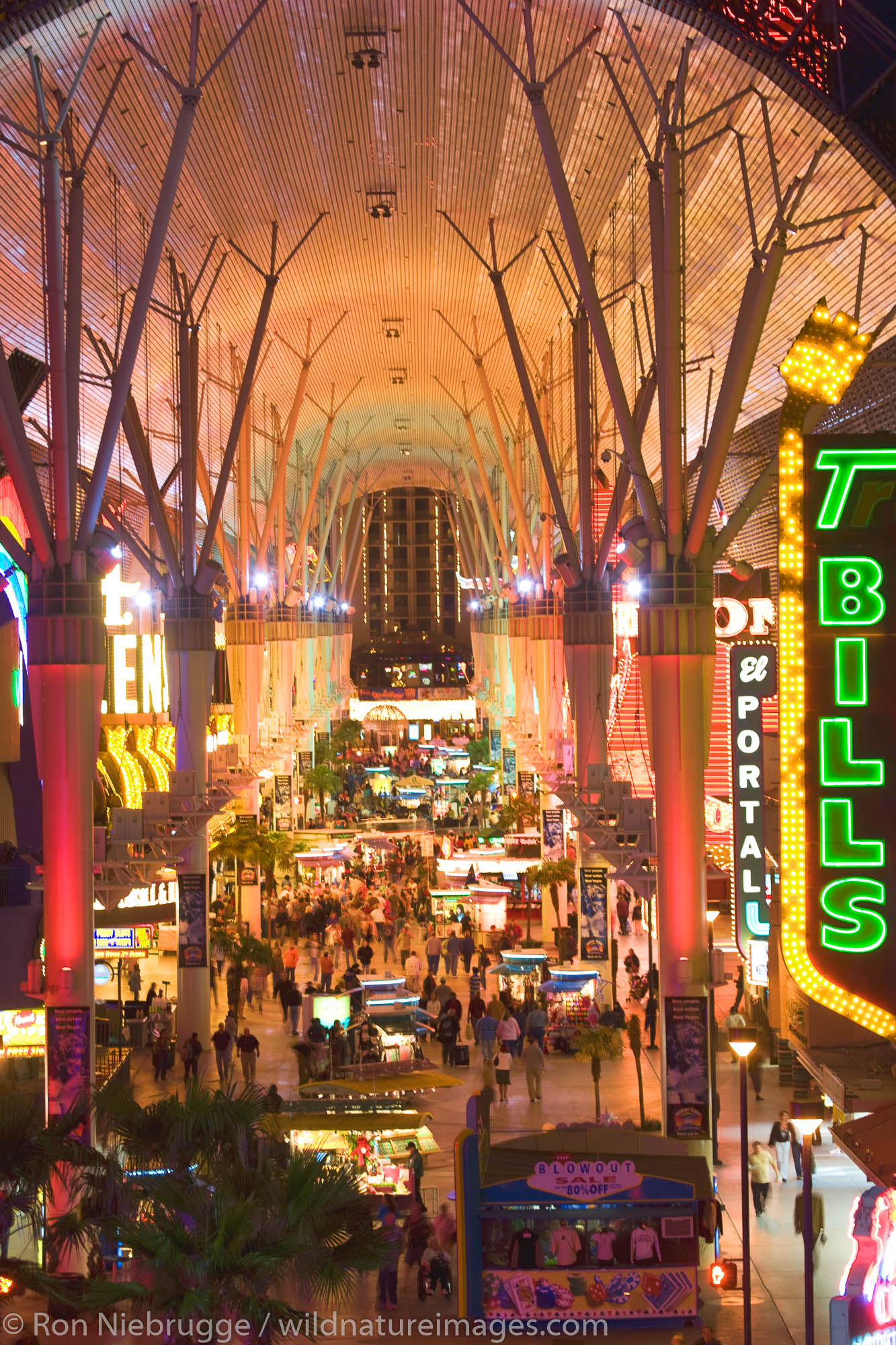 Downtown Fremont Street,  Las Vegas, Nevada.