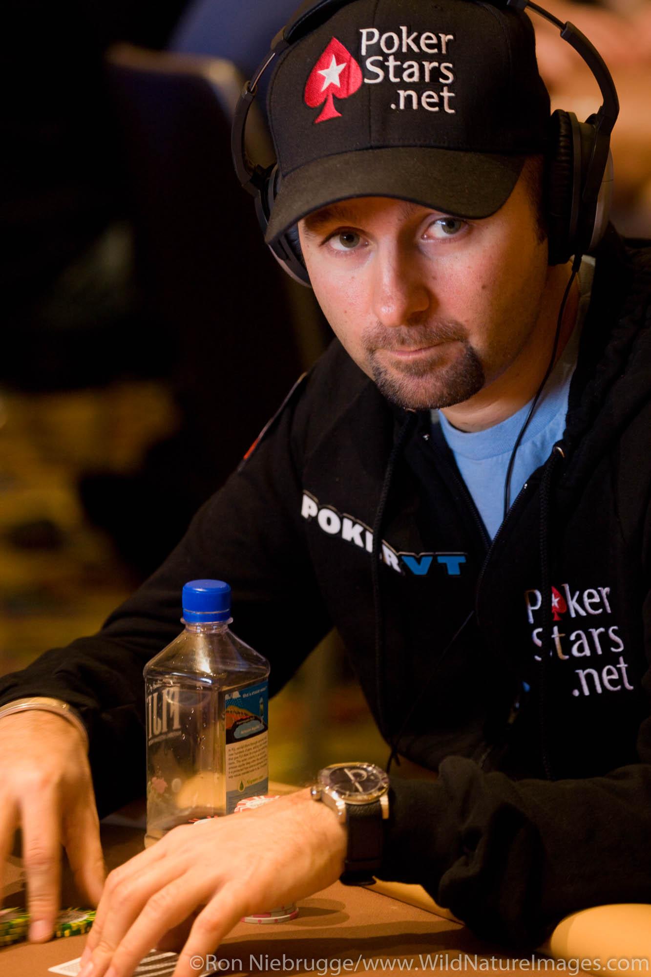 Daniel Negreanu at the 2008 World Poker Tour Festa Al Lago poker tournament at the Bellagio Resort and Casino, Las Vegas, Nevada...