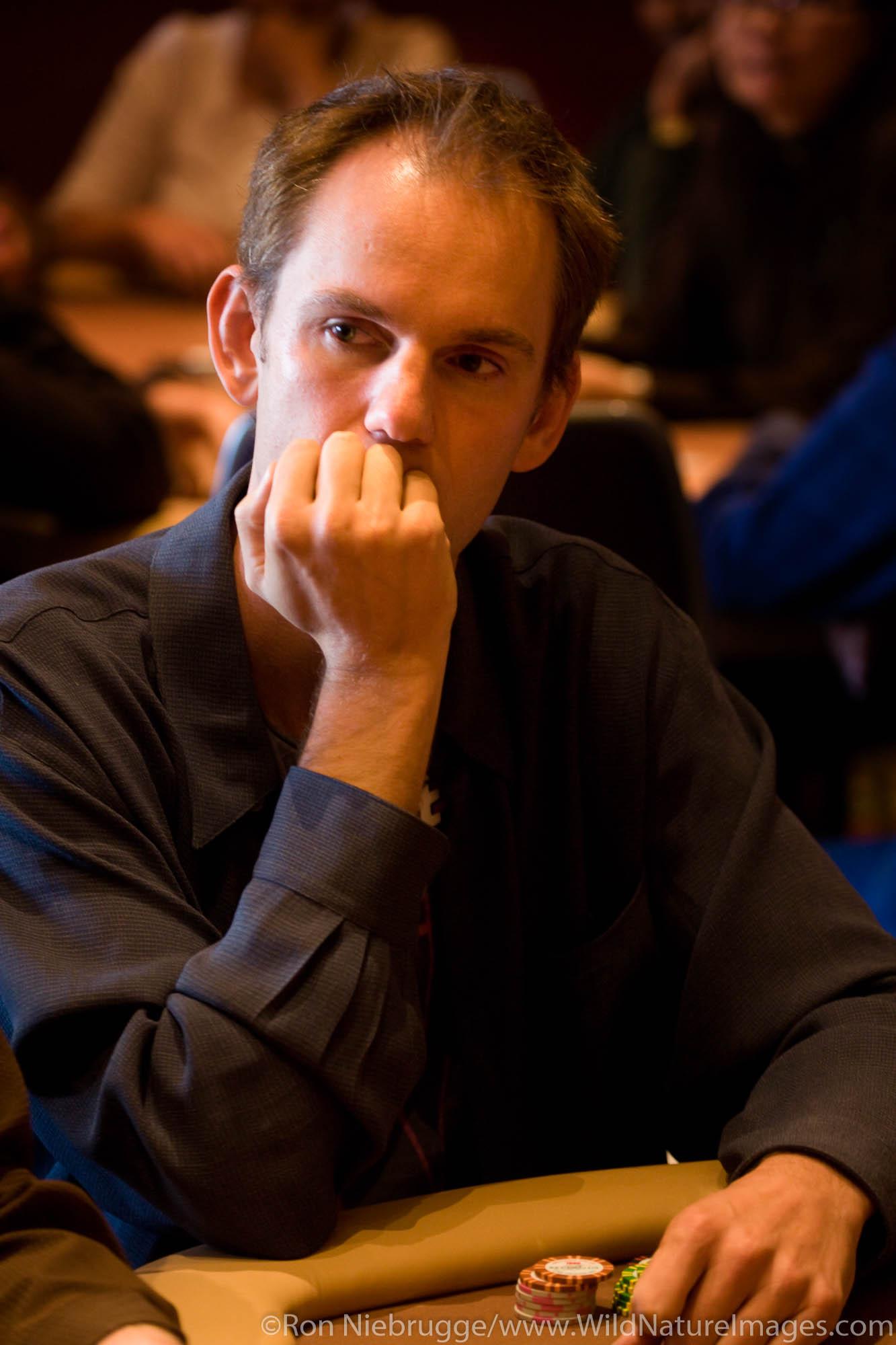 Allen Cunningham at the 2008 World Poker Tour Festa Al Lago poker tournament at the Bellagio Resort and Casino, Las Vegas, Nevada...