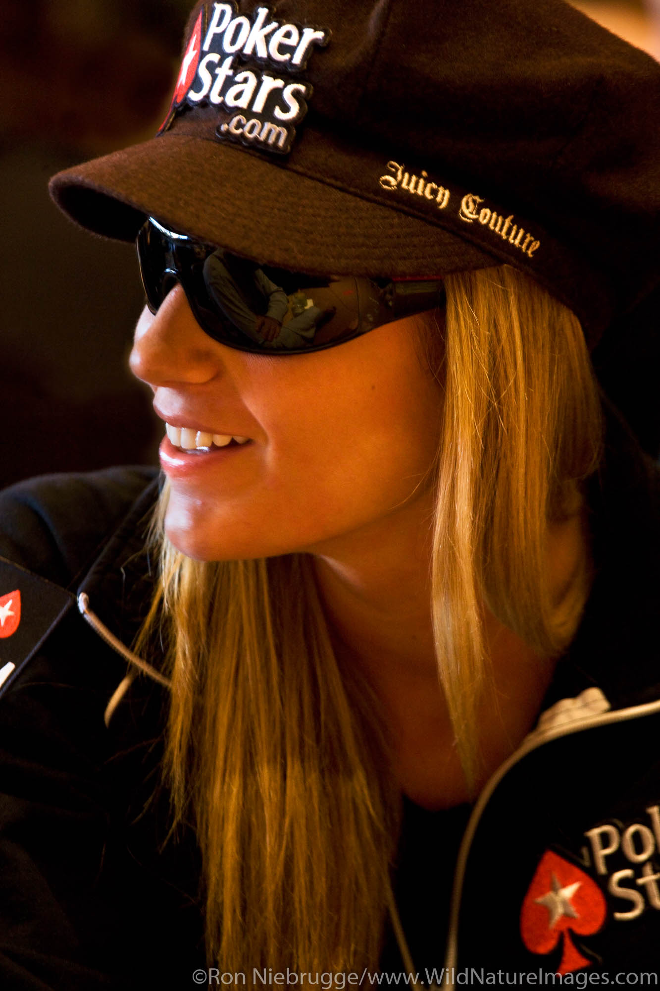 Vanessa Rousso at the 2008 World Poker Tour Festa Al Lago poker tounament at the Bellagio Resort and Casino, Las Vegas, Nevada...