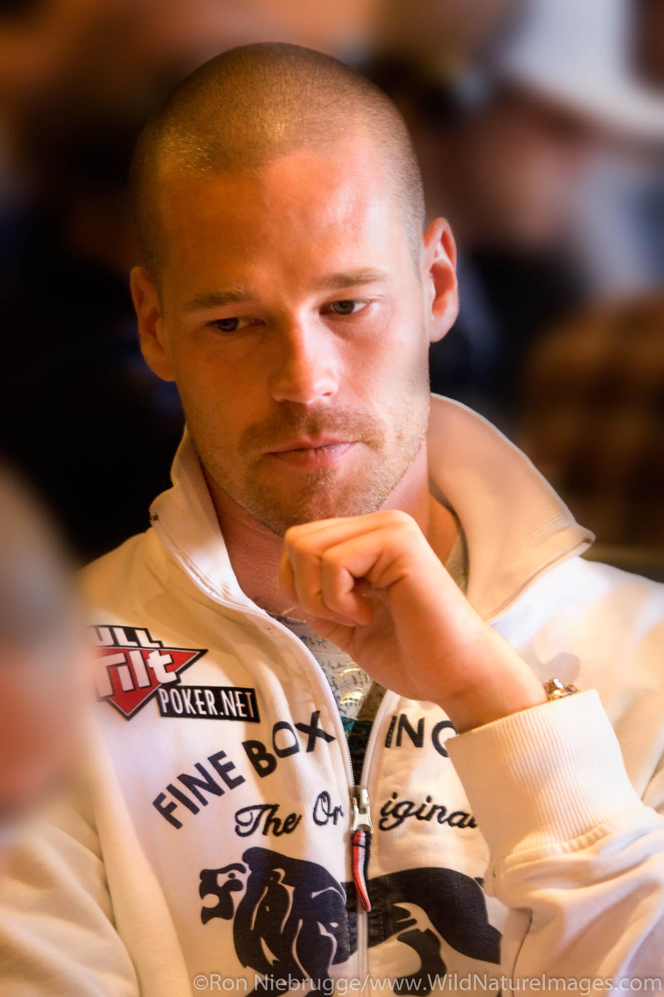 Patrik Antonius at the 2008 World Poker Tour Festa Al Lago poker tournament at the Bellagio Resort and Casino, Las Vegas, Nevada...