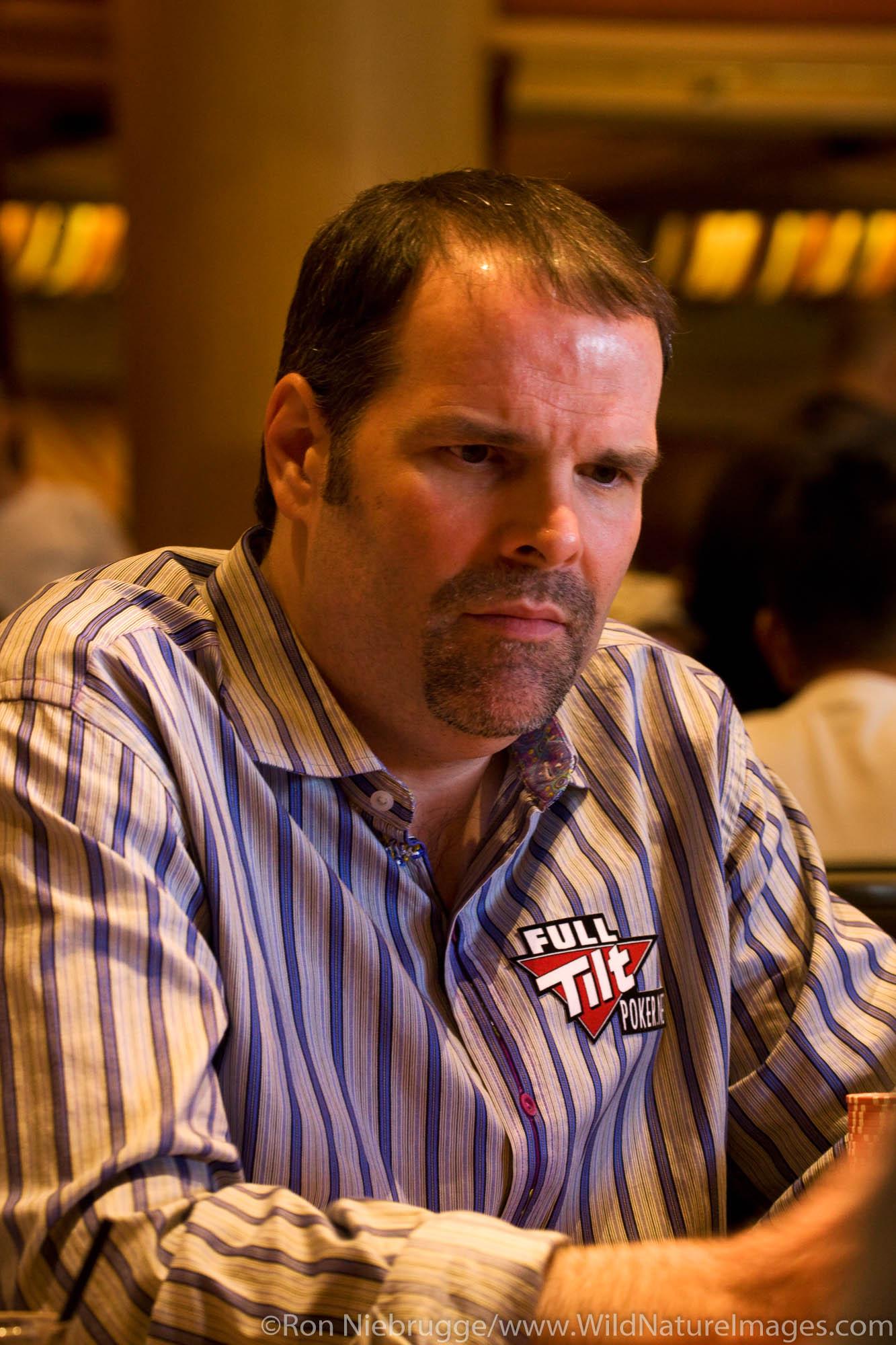 """Howard Lederer """"The Professor"""" at the 2008 World Poker Tour Festa Al Lago poker tournament at the Bellagio Resort and Casino..."""