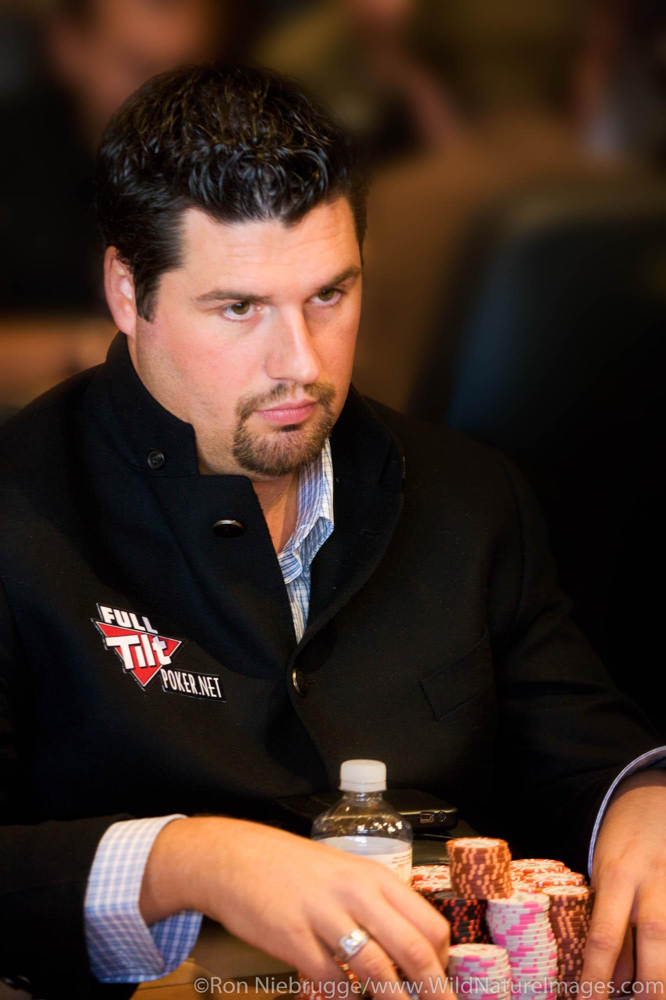 """Yukon"" Brad Booth at the 2008 World Poker Tour Festa Al Lago poker tournament at the Bellagio Resort and Casino, Las Vegas..."