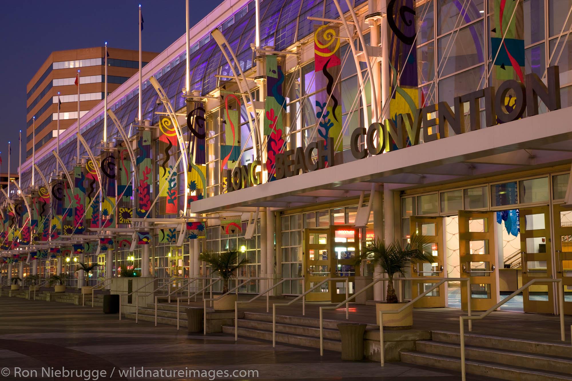 Long Beach Convention Center, Waterfront Center, Long Beach, California.