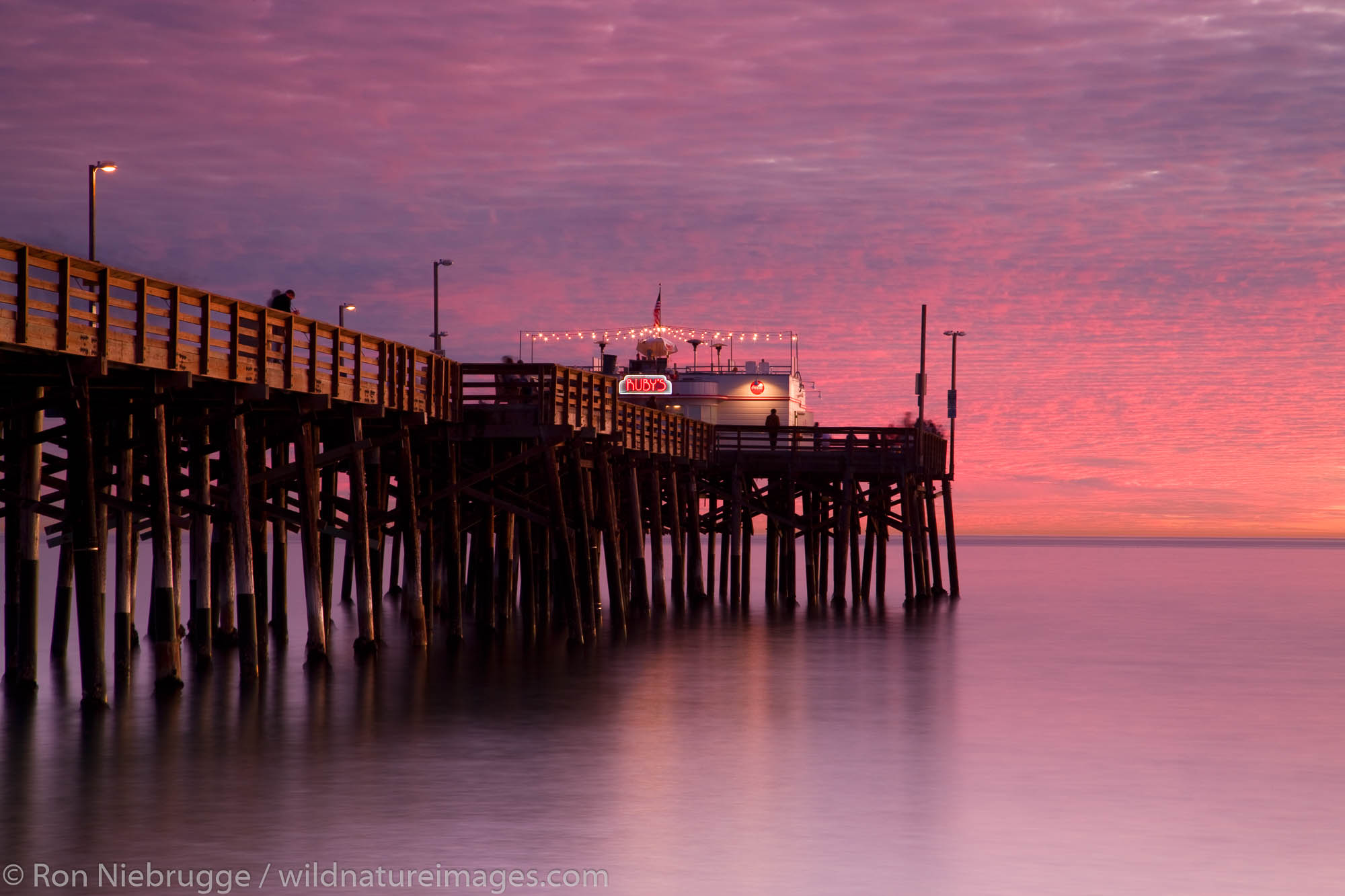Orange County, California, Balboa Pier, Newport Beach, photo