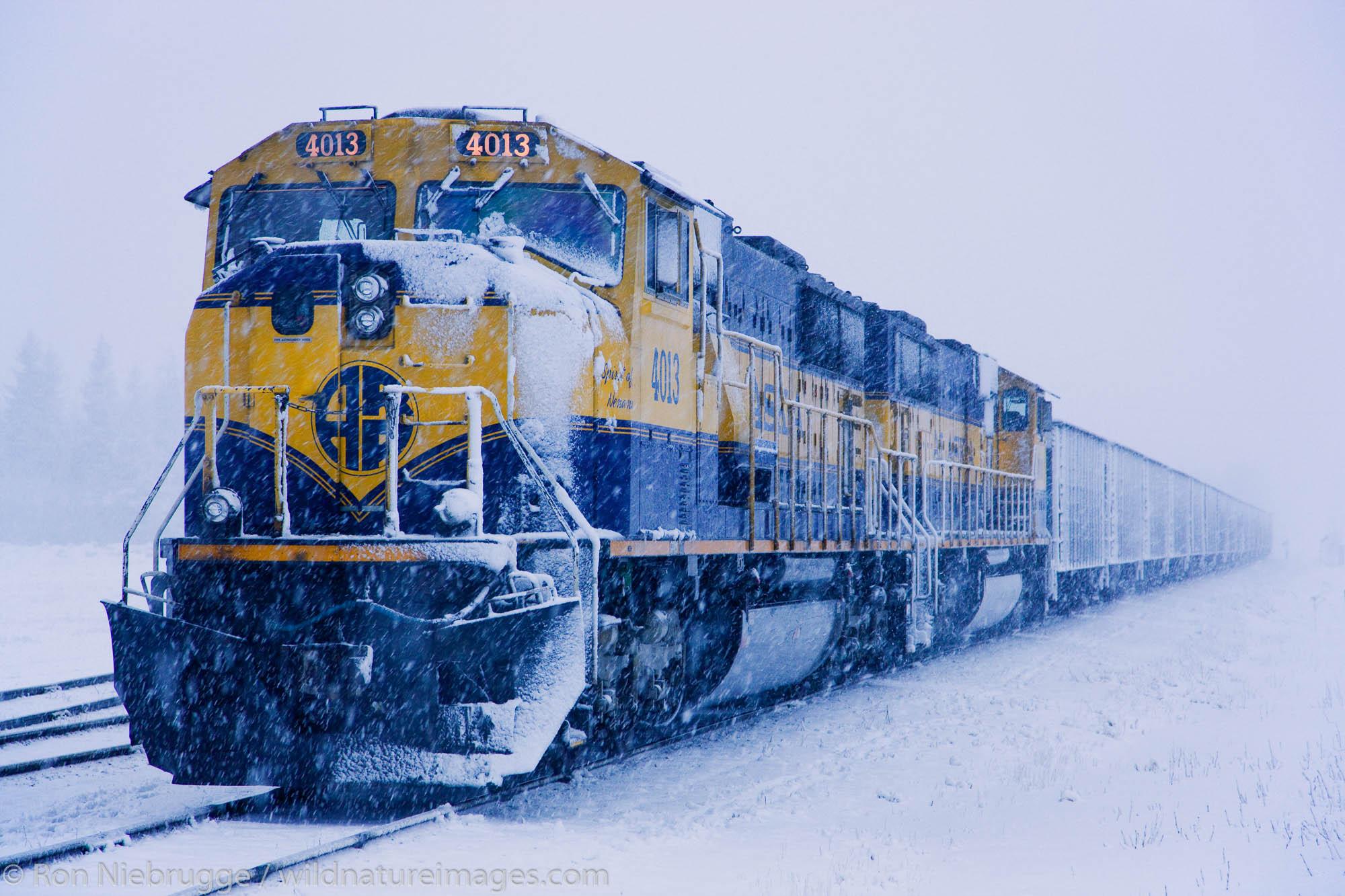 Alaska Railroad, Seward, Alaska