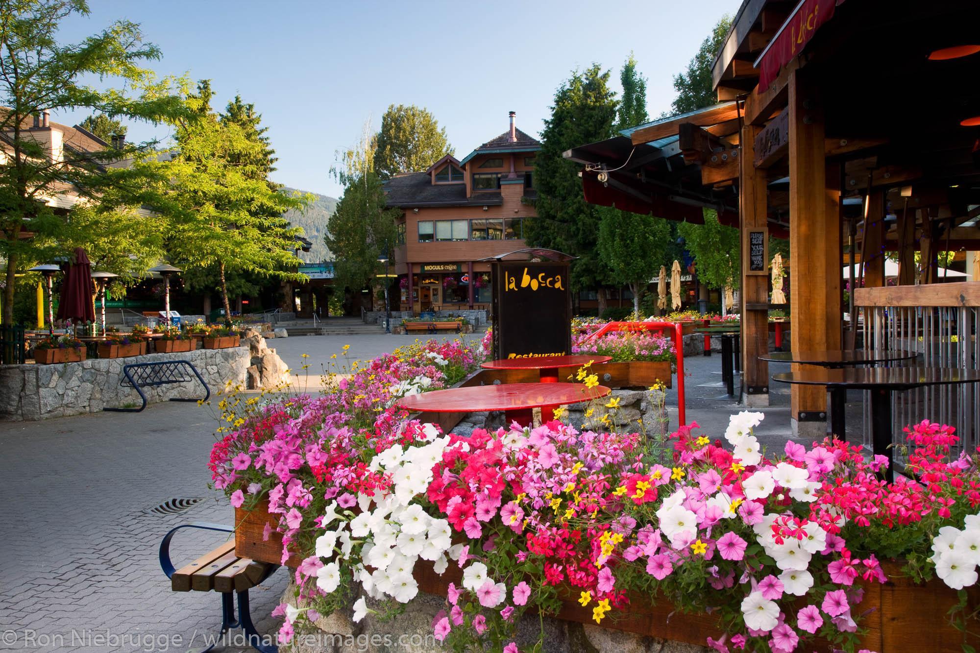 Whistler Village, Whistler, British Columbia, Canada.