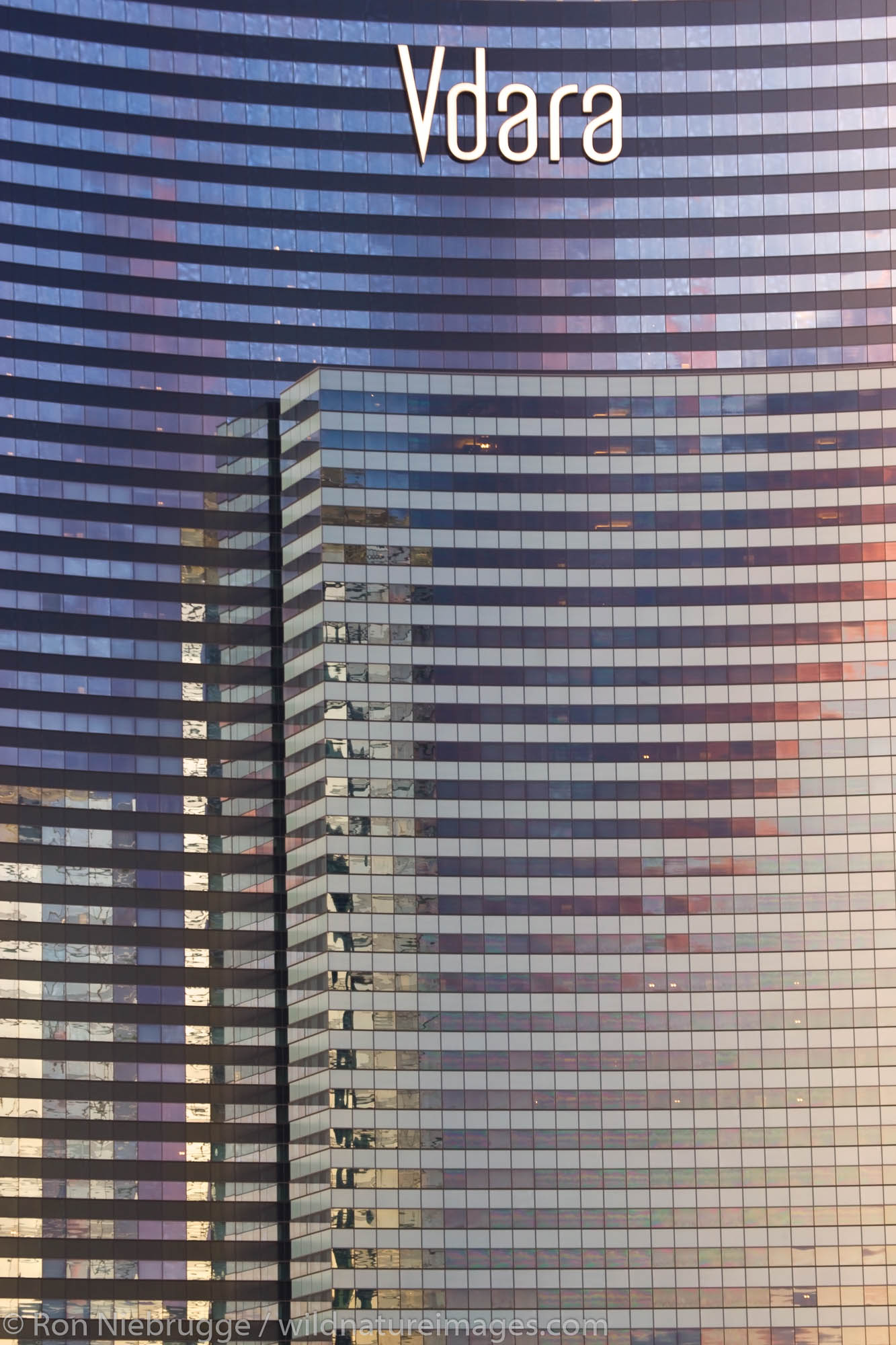 Vdara Hotel and Spa, City Center, Las Vegas, Nevada.