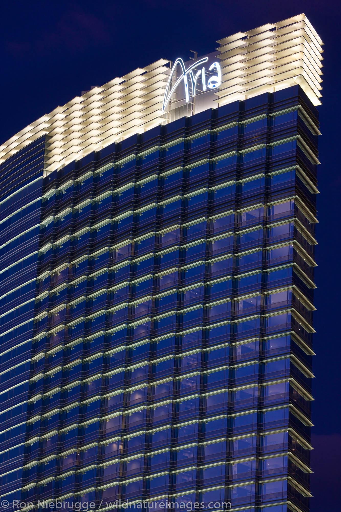 Aria, City Center, Las Vegas, Nevada.