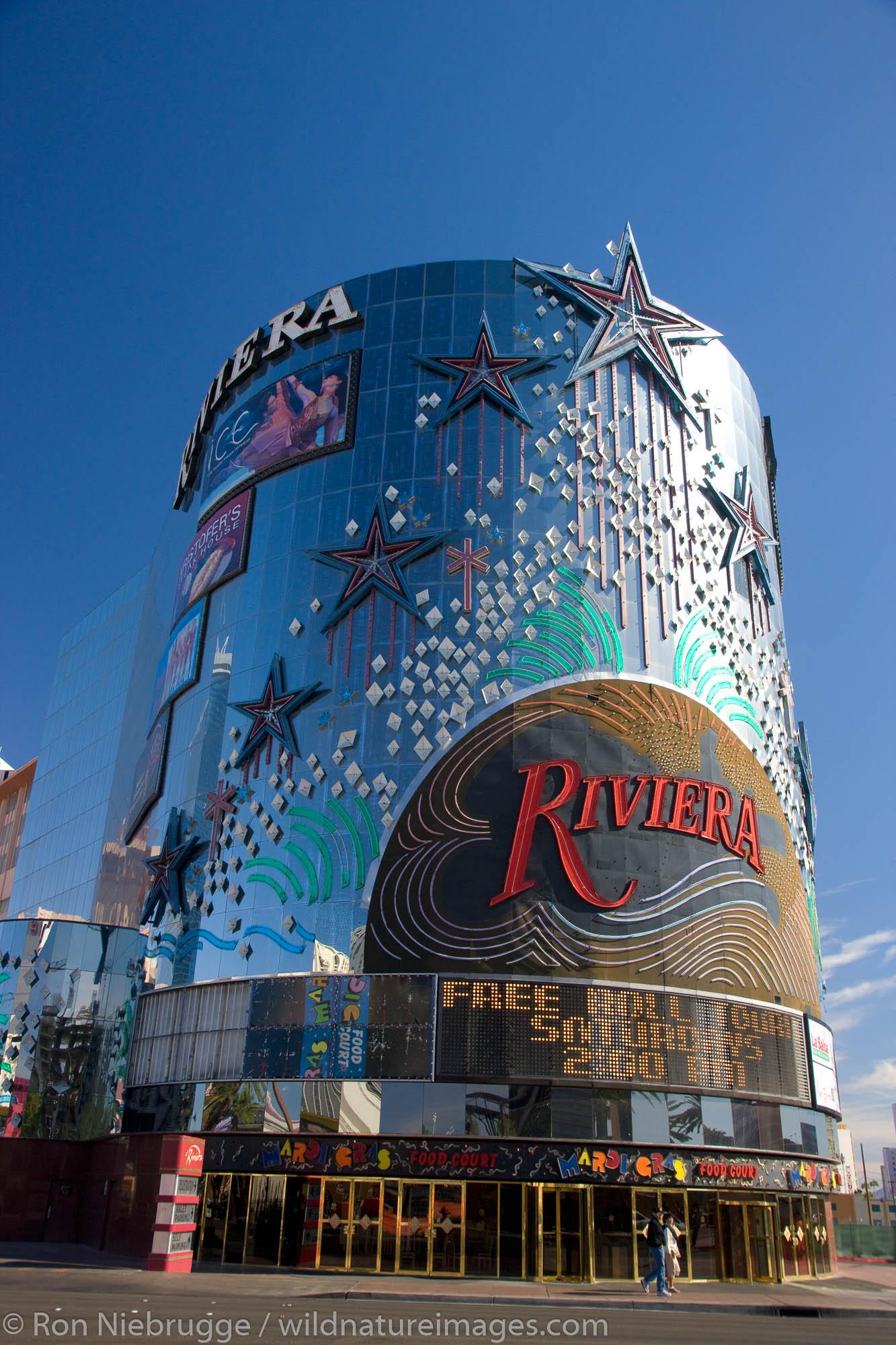 Riviera Hotel and Casino, Las Vegas, Nevada.