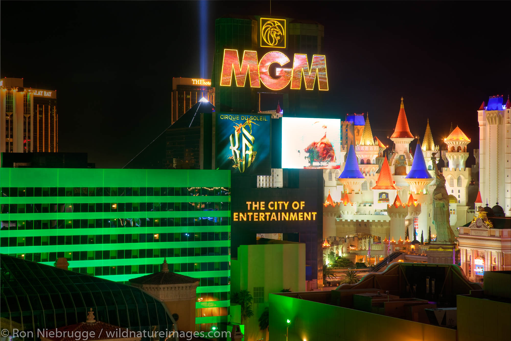 MGM Grand, Las Vegas, Nevada.