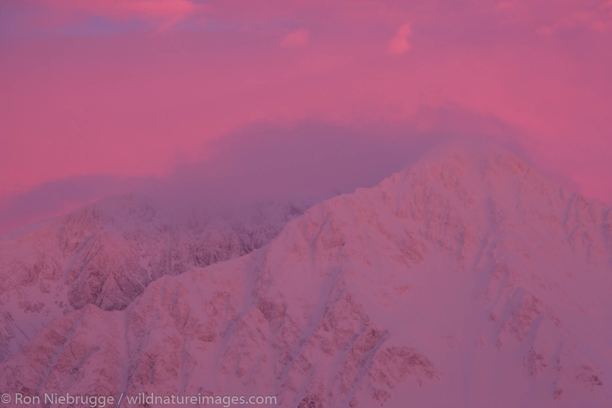 Resurrection Peak, Chugach National Forest, Seward, Alaska.