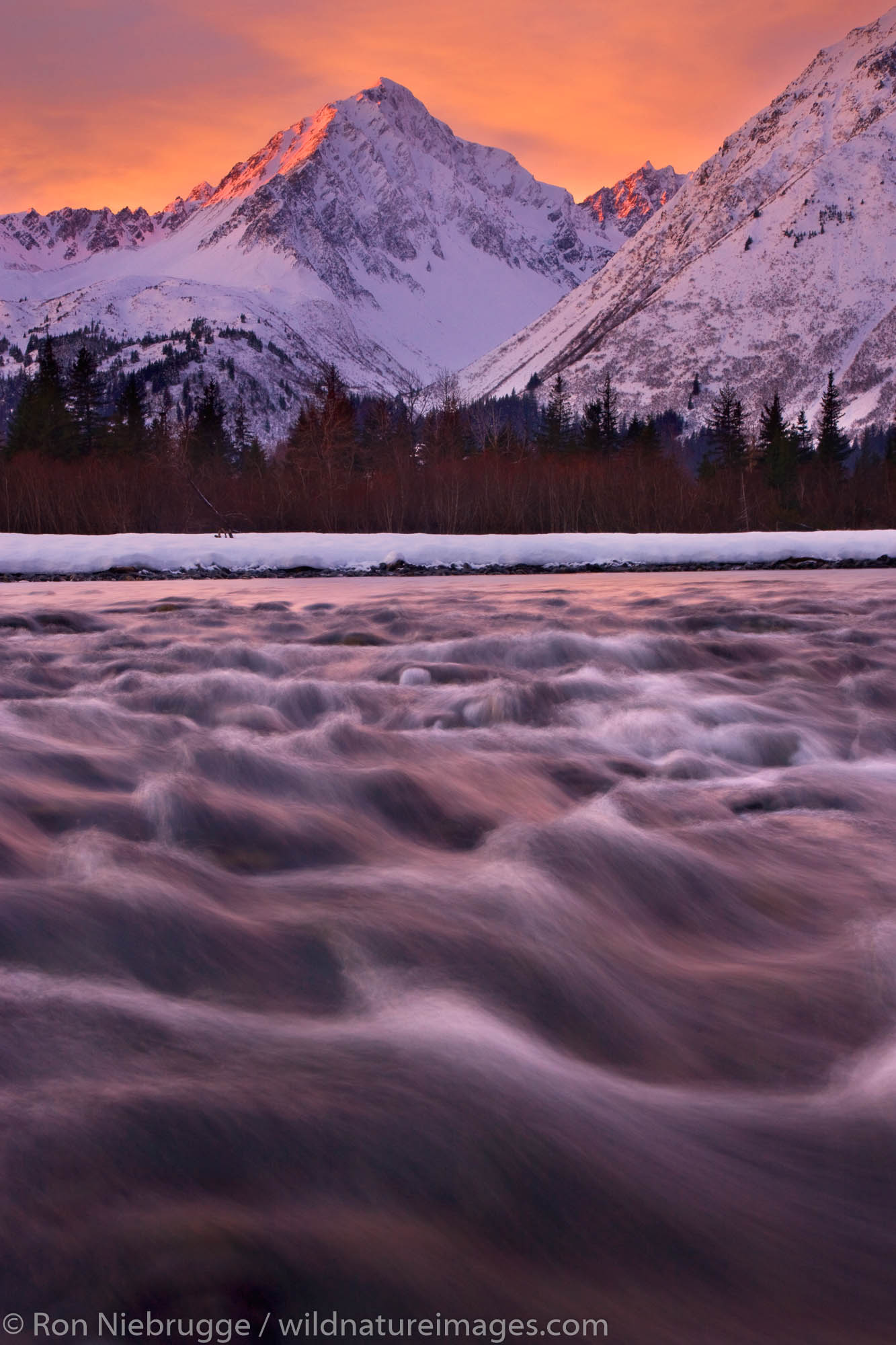 Resurrection River, Seward, Alaska.