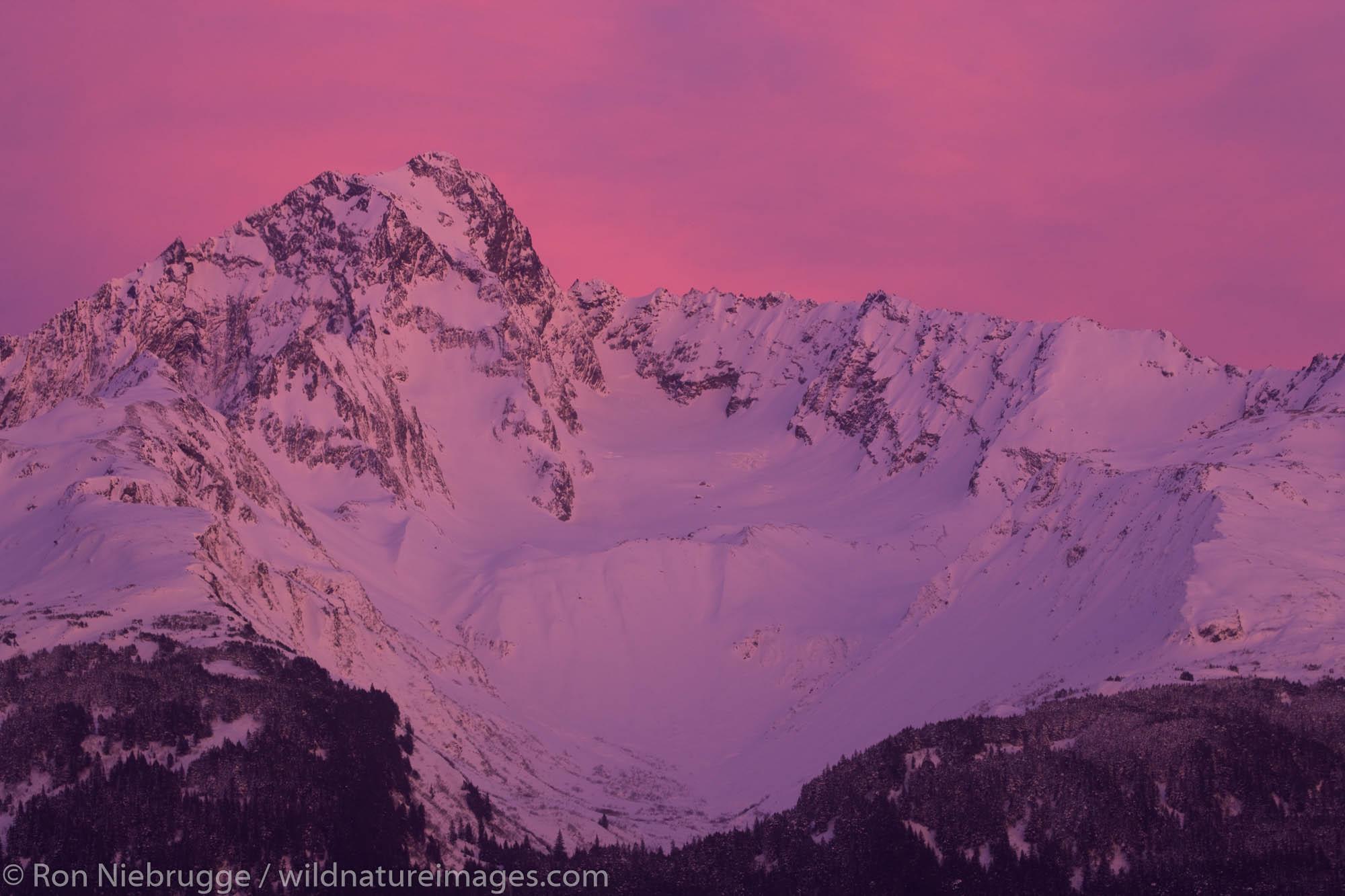 Mt Alice, Chugach National Forest, Seward, Alaska.