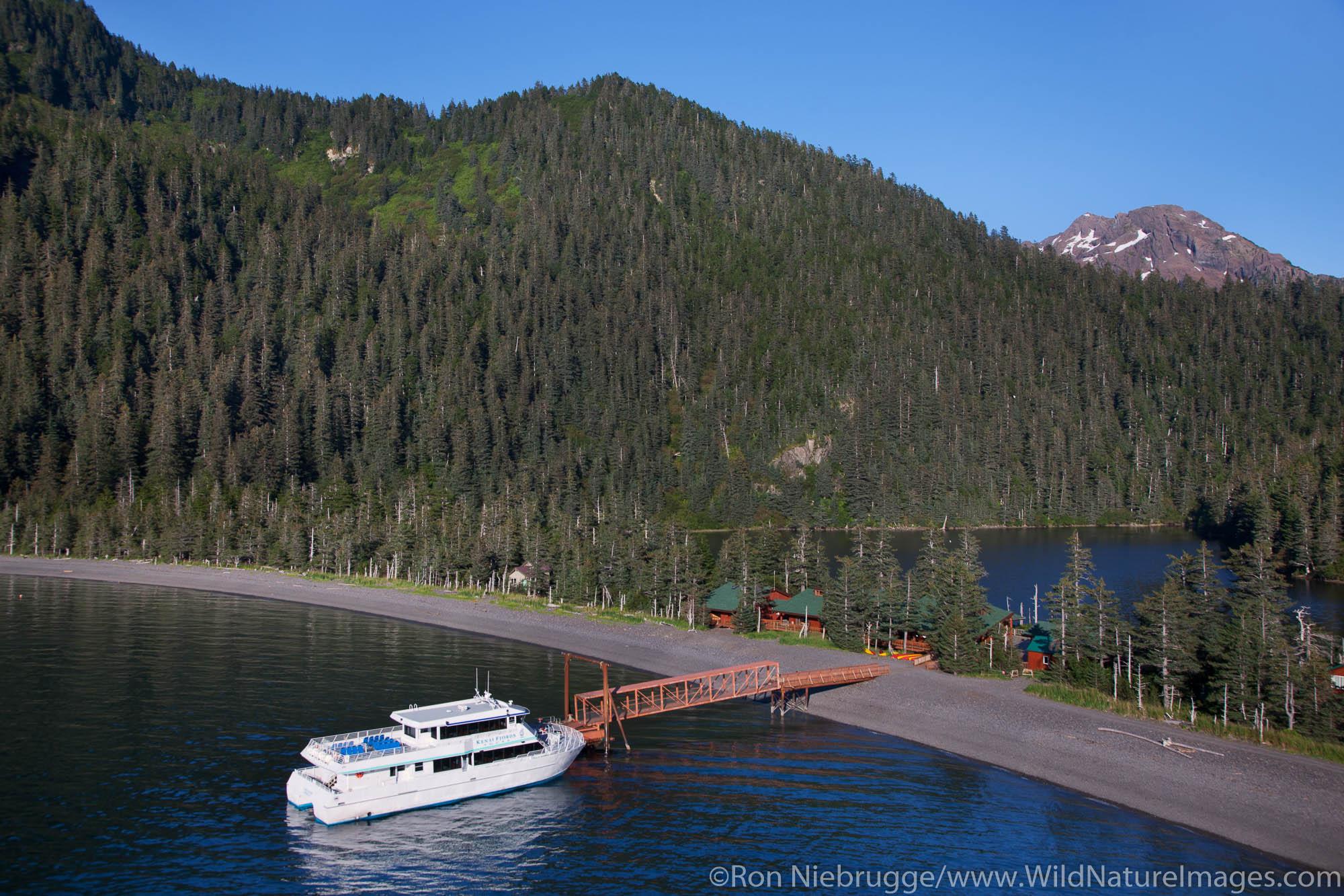 Aerial photo shoot for Kenai Fjords Tours 8-19-2010, near Seward, Alaska.