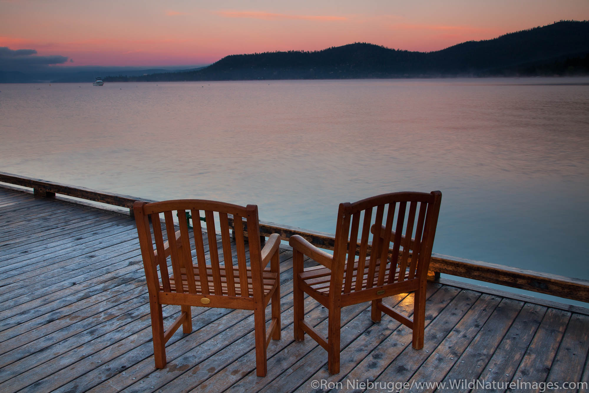 Sunrise on Lake Tahoe, Nevada