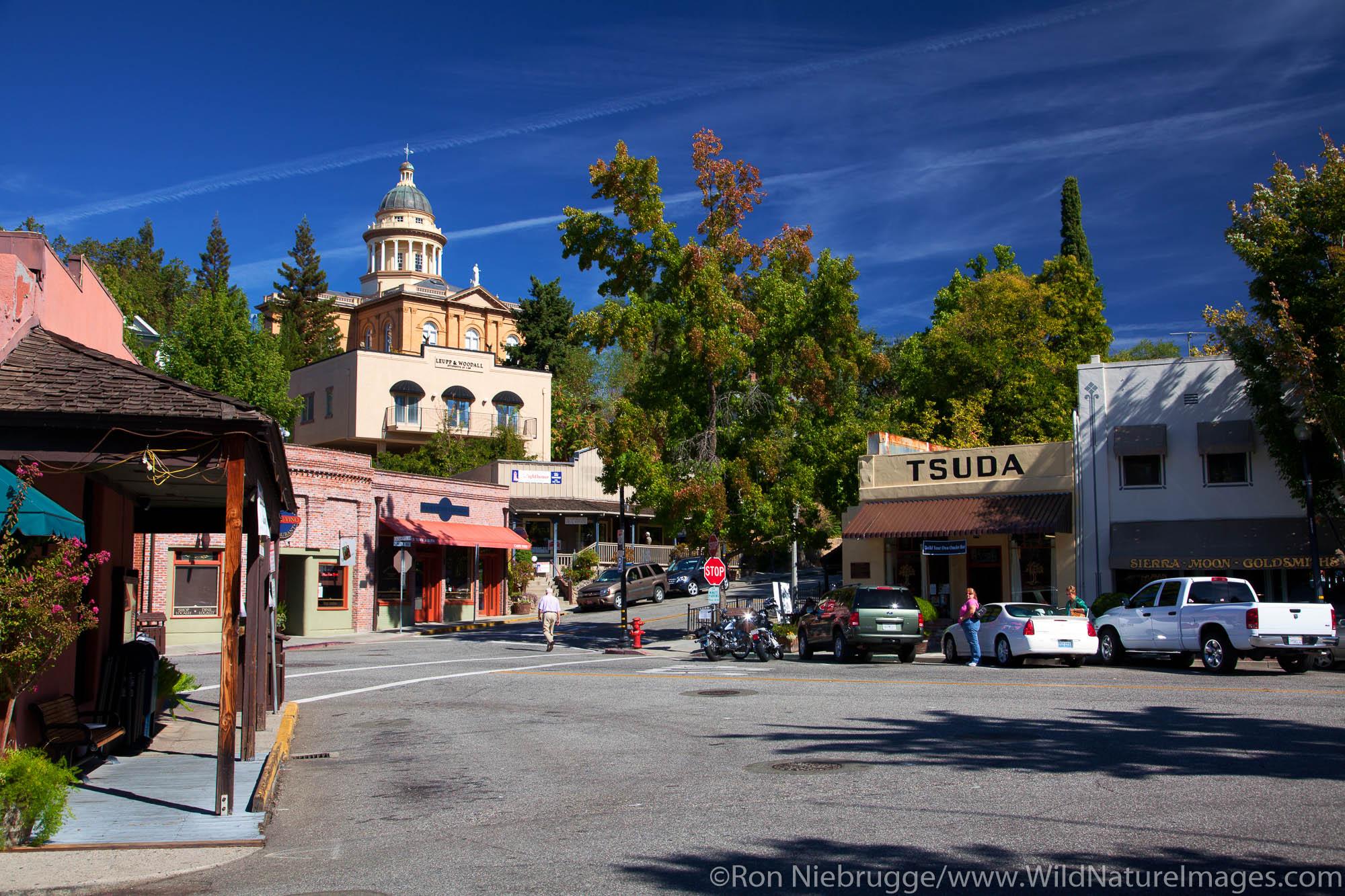 Old town Auburn, California