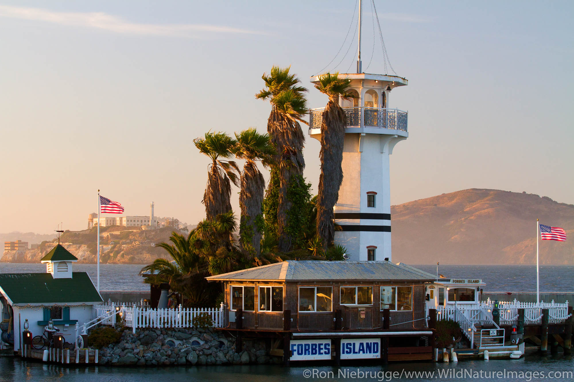 Forbes Island, Fisherman's Wharf, San Francisco, CA