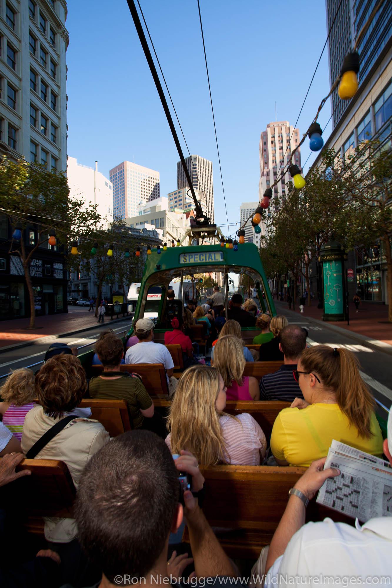 F-Line Cable Car, San Francisco, CA