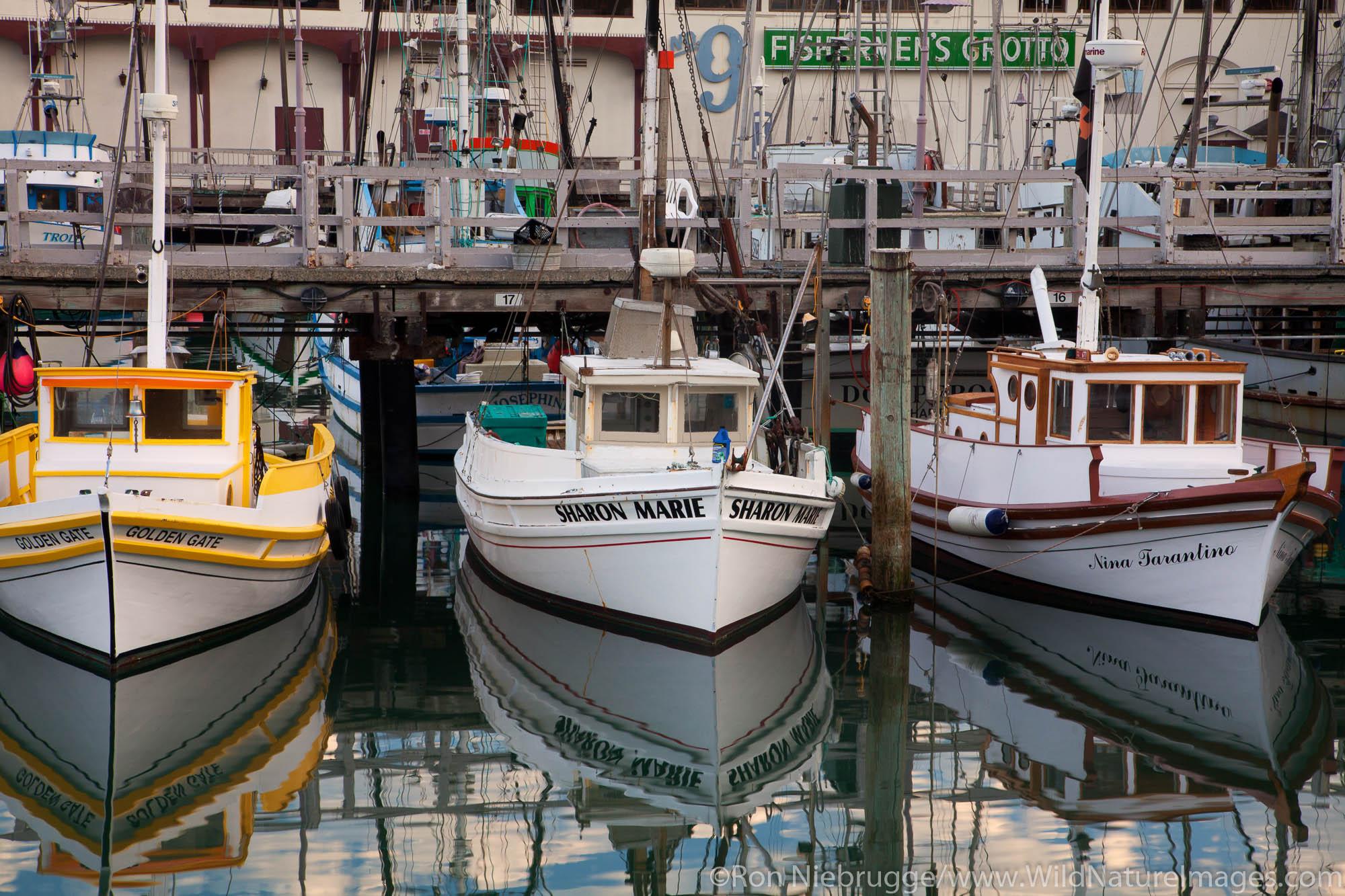 Monterey Hull Boats, Fisherman's Wharf, San Francisco, CA