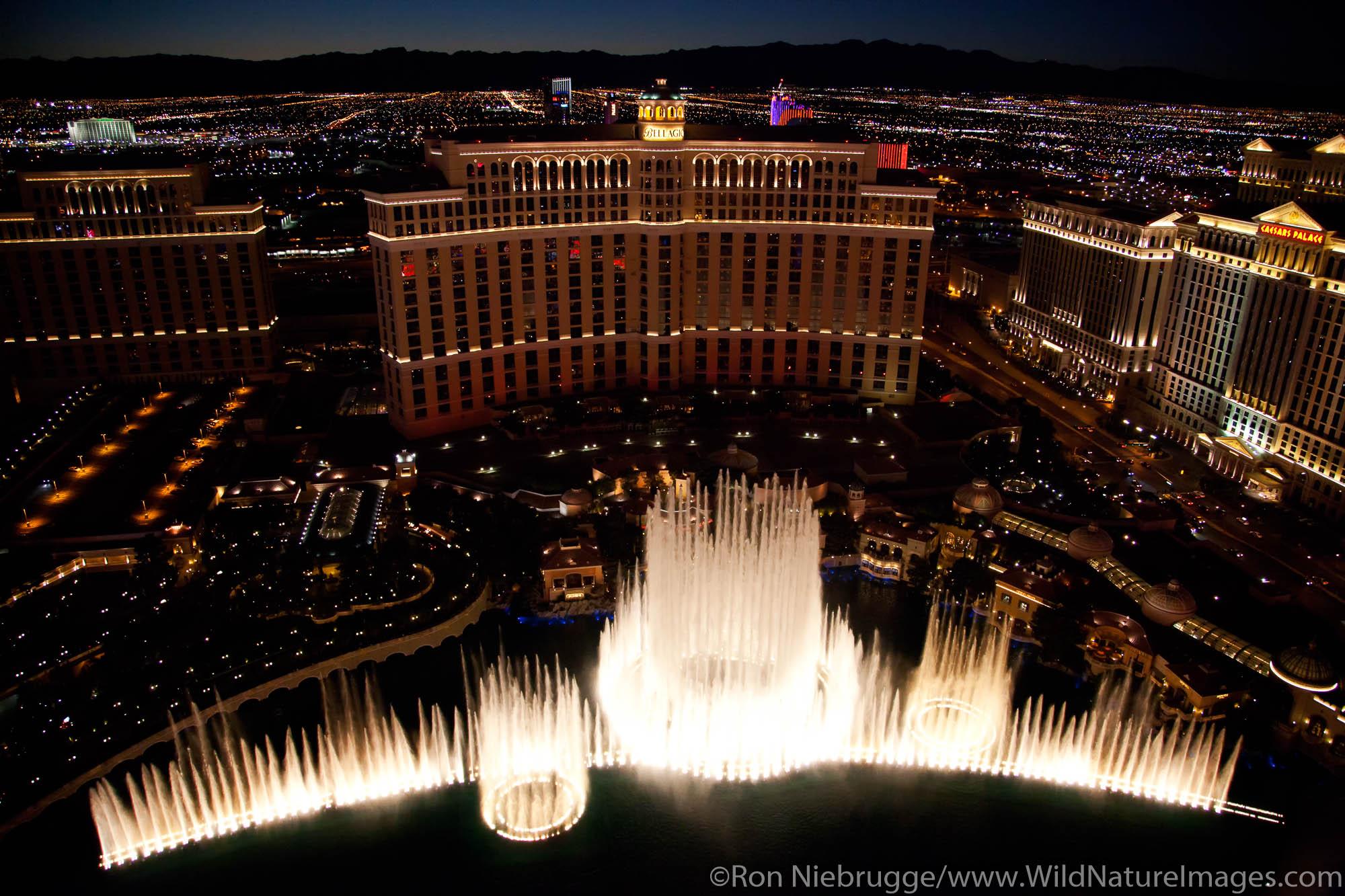 Fountains of Bellagio, Bellagio Resort and Casino, Las Vegas, NV